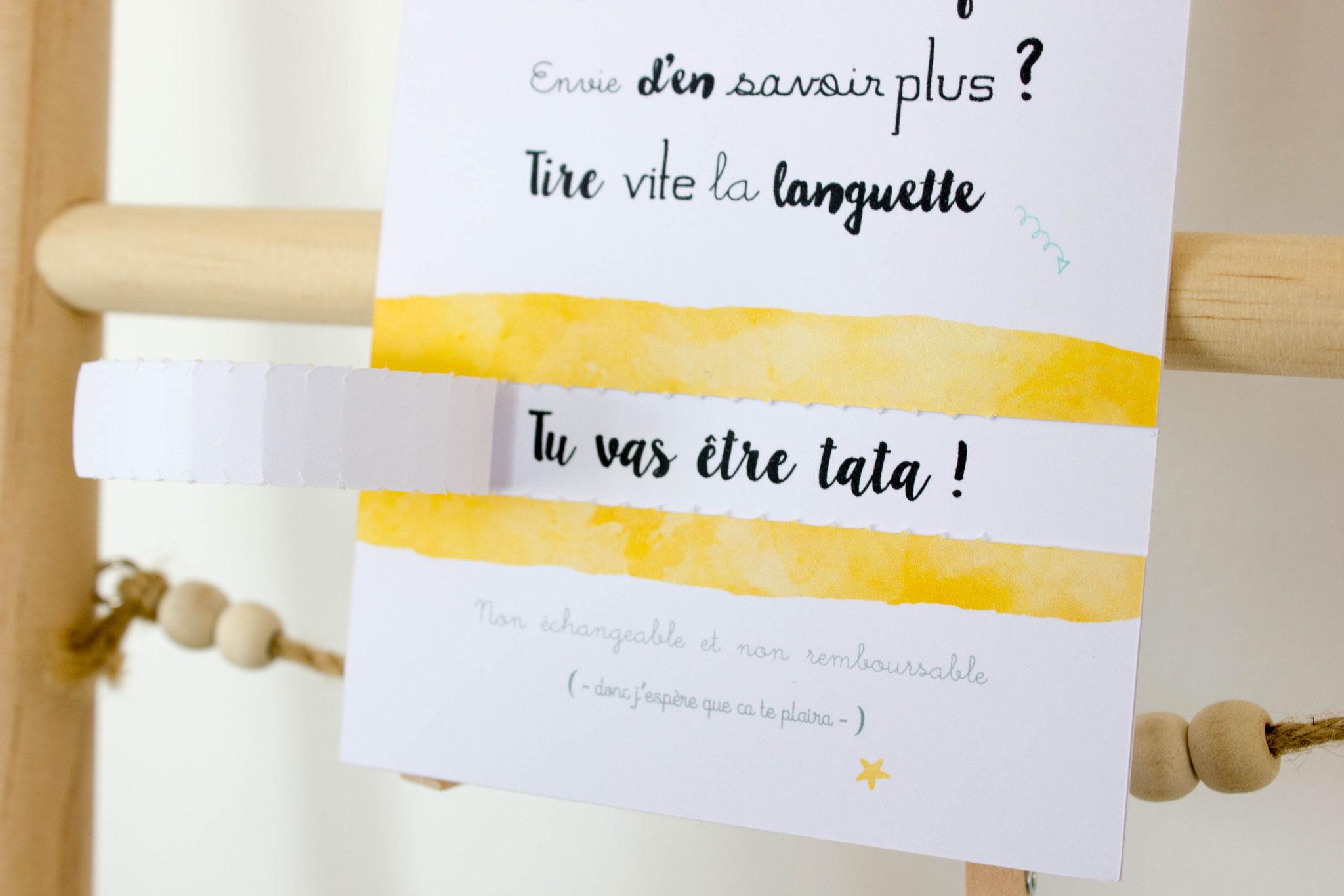 Annonce Témoin Mariage destiné bon cadeau jaune demande témoin - annonce grossesse - annonce