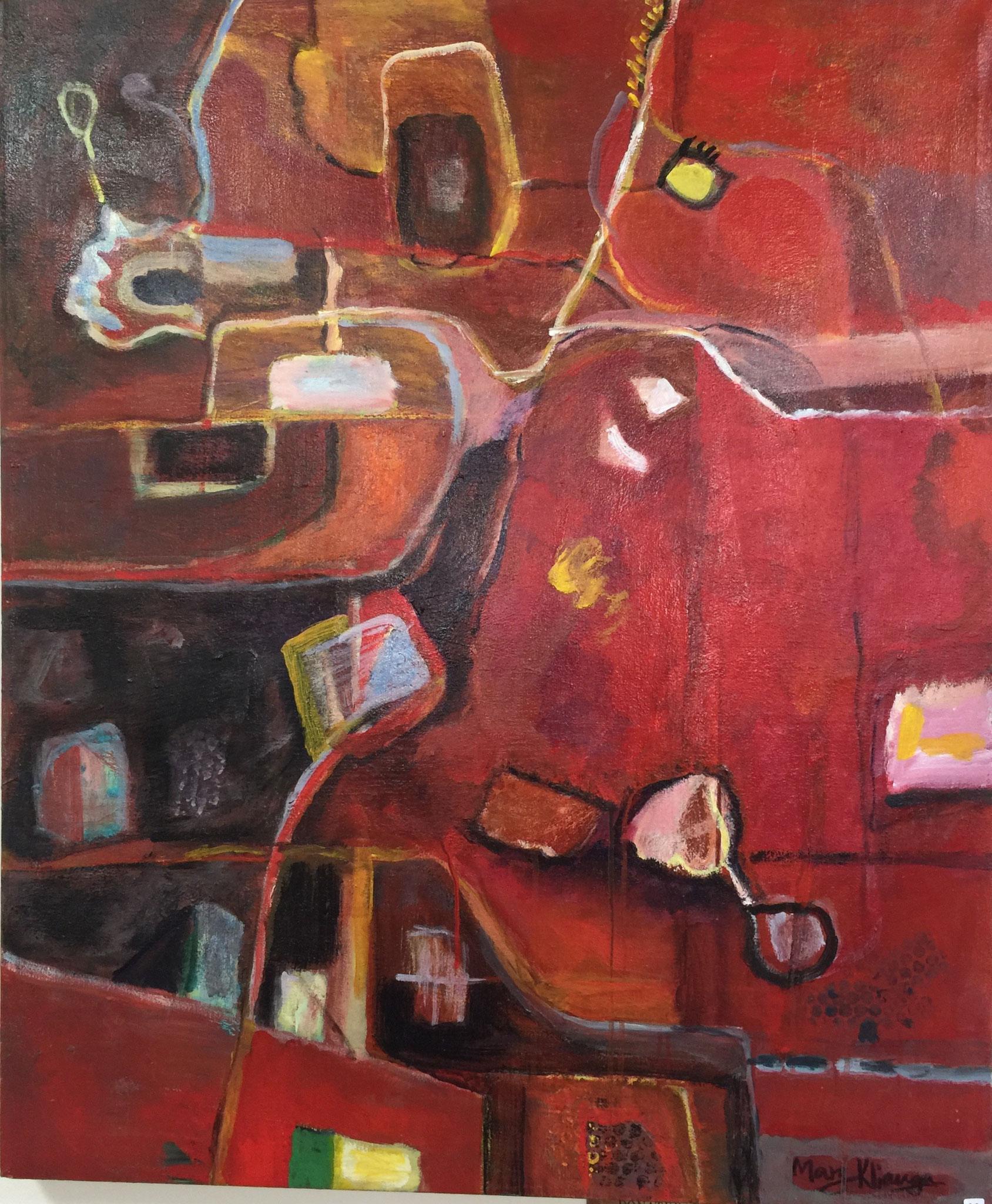 Mary Kliauga, Acrylic