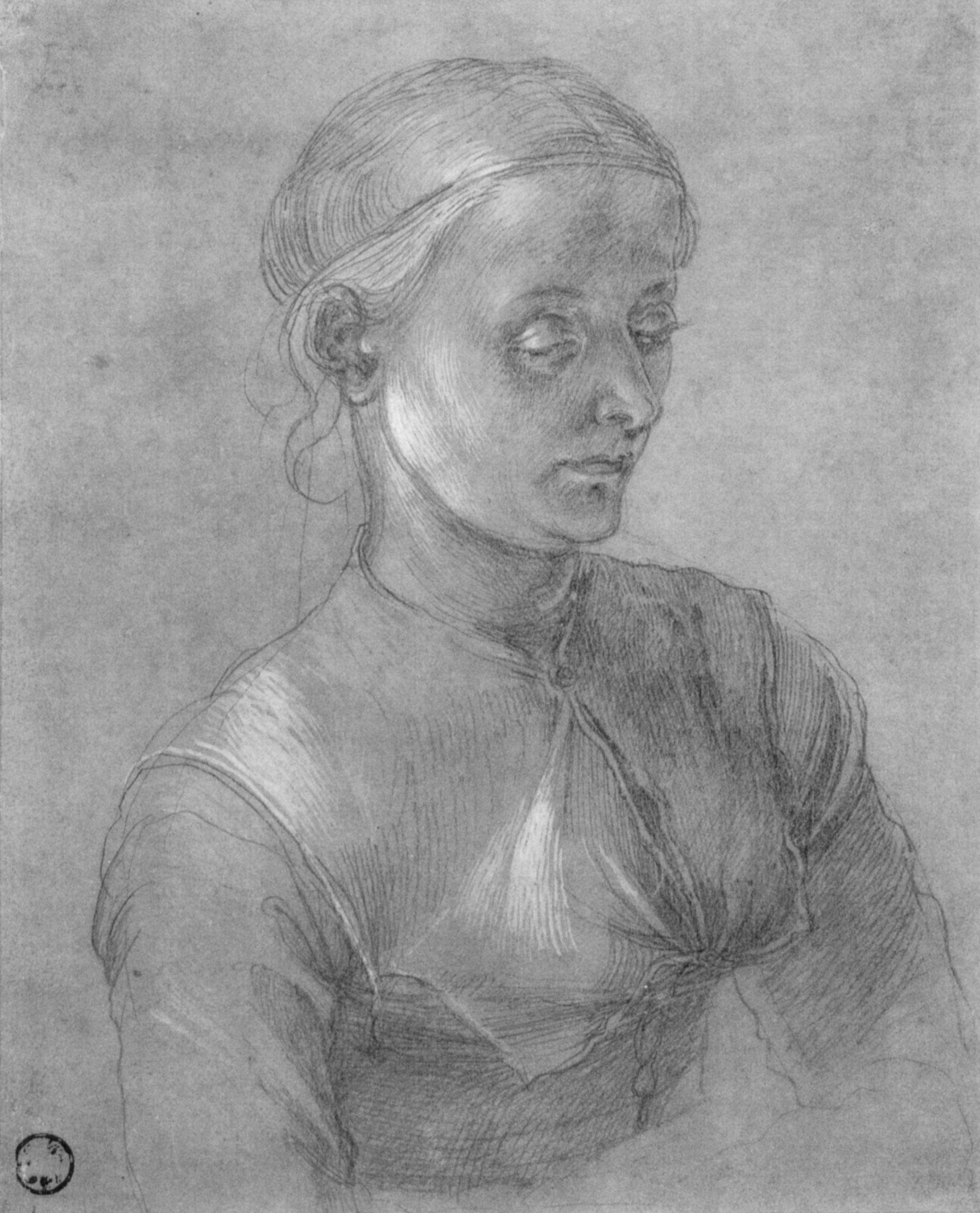Porträt von Dürers Frau (Agnes Dürer)