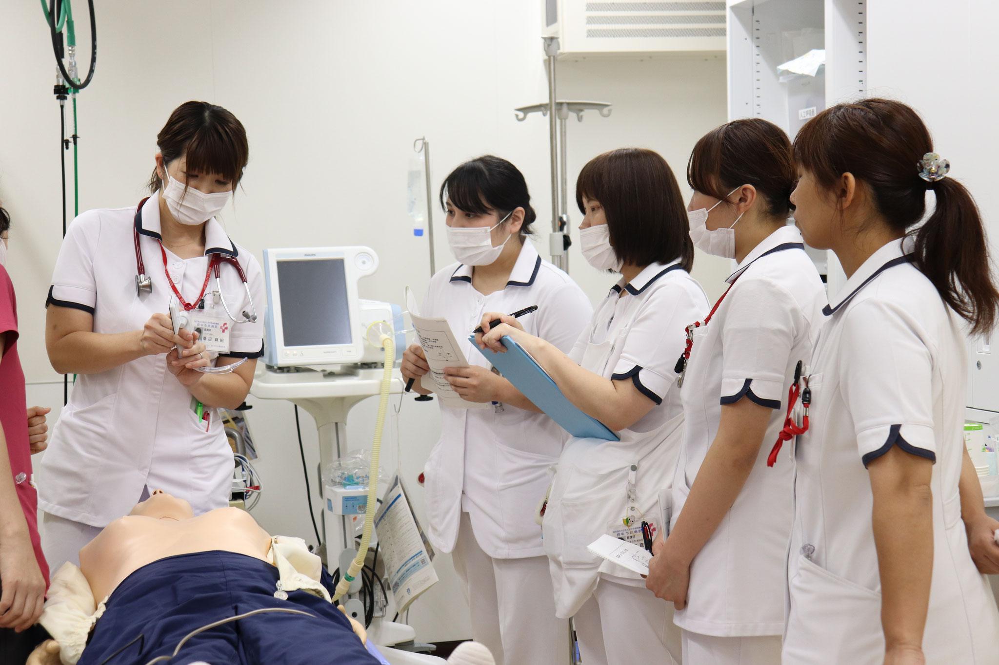 【新採用看護師研修】挿管介助