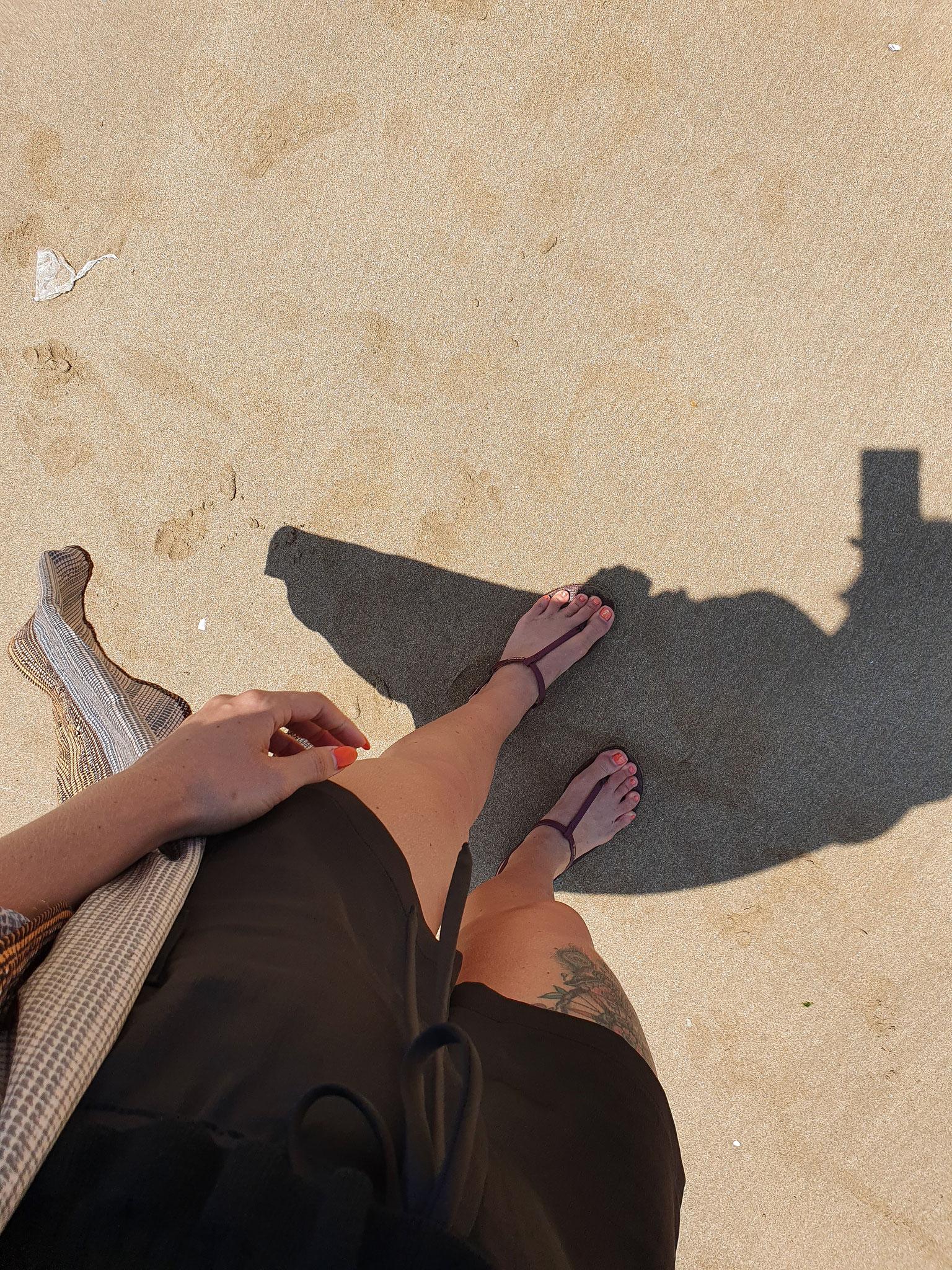 Eindelijk strand!