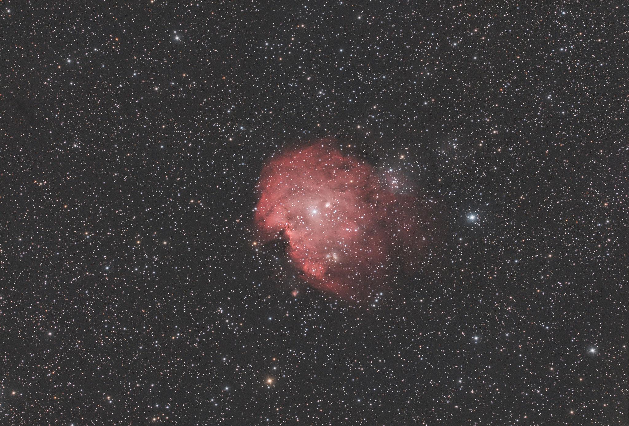 """NGC 2174, EdgeHD11"""" mit Hyperstar, Alccd10, IDAS-LPS-P2 Filter, 55x300s"""