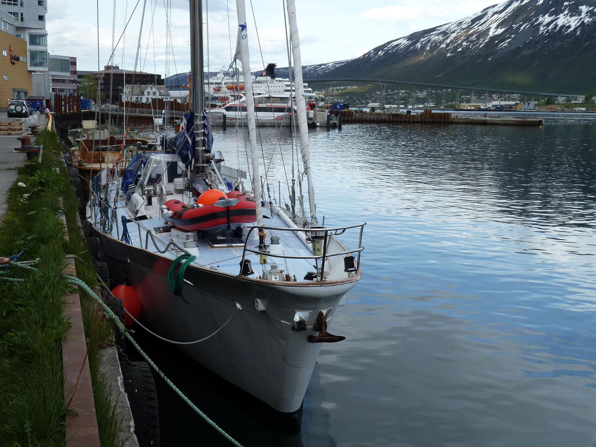 Départ de Tromso en Norvège