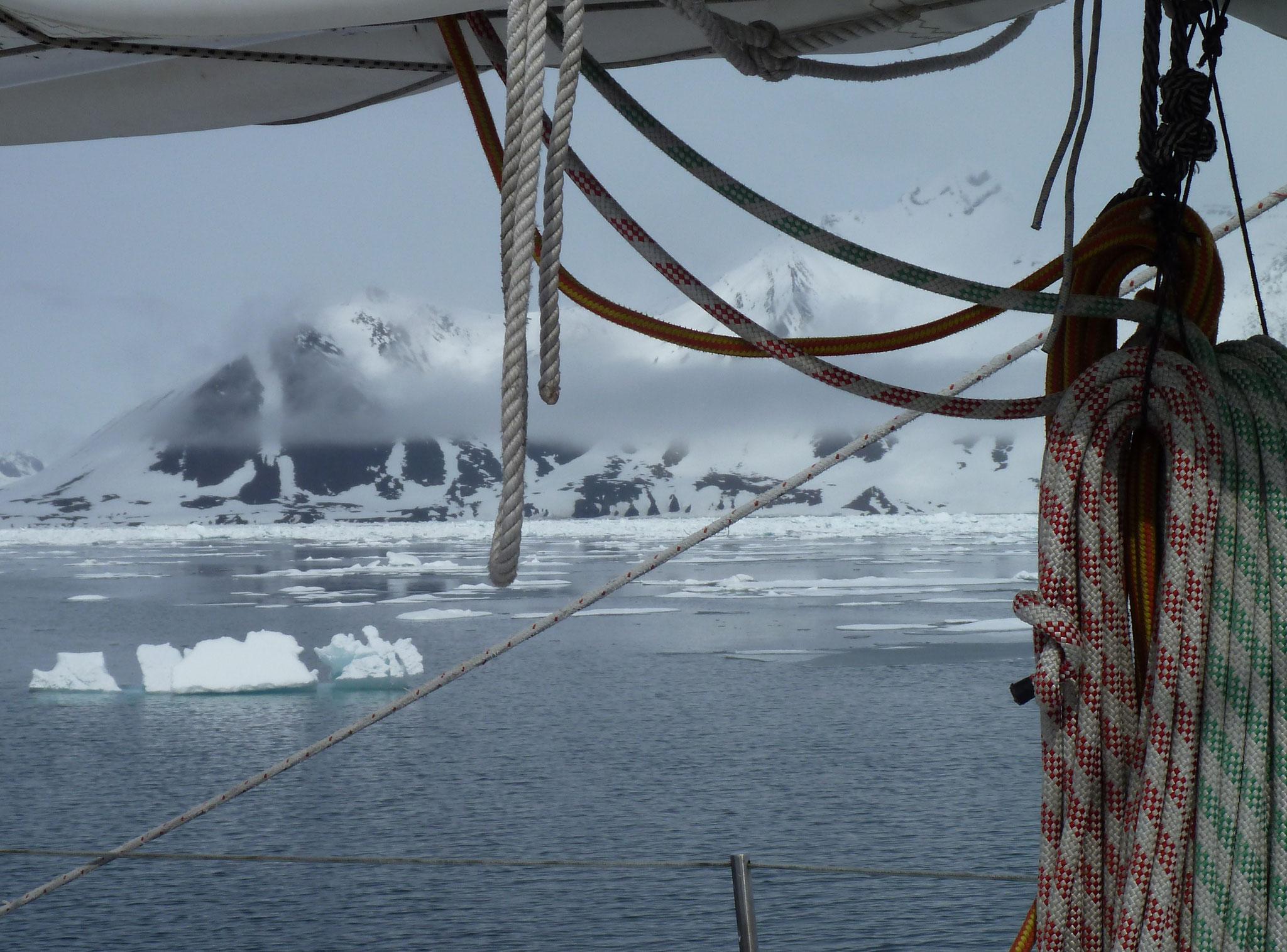 Arrivée au Svalbard