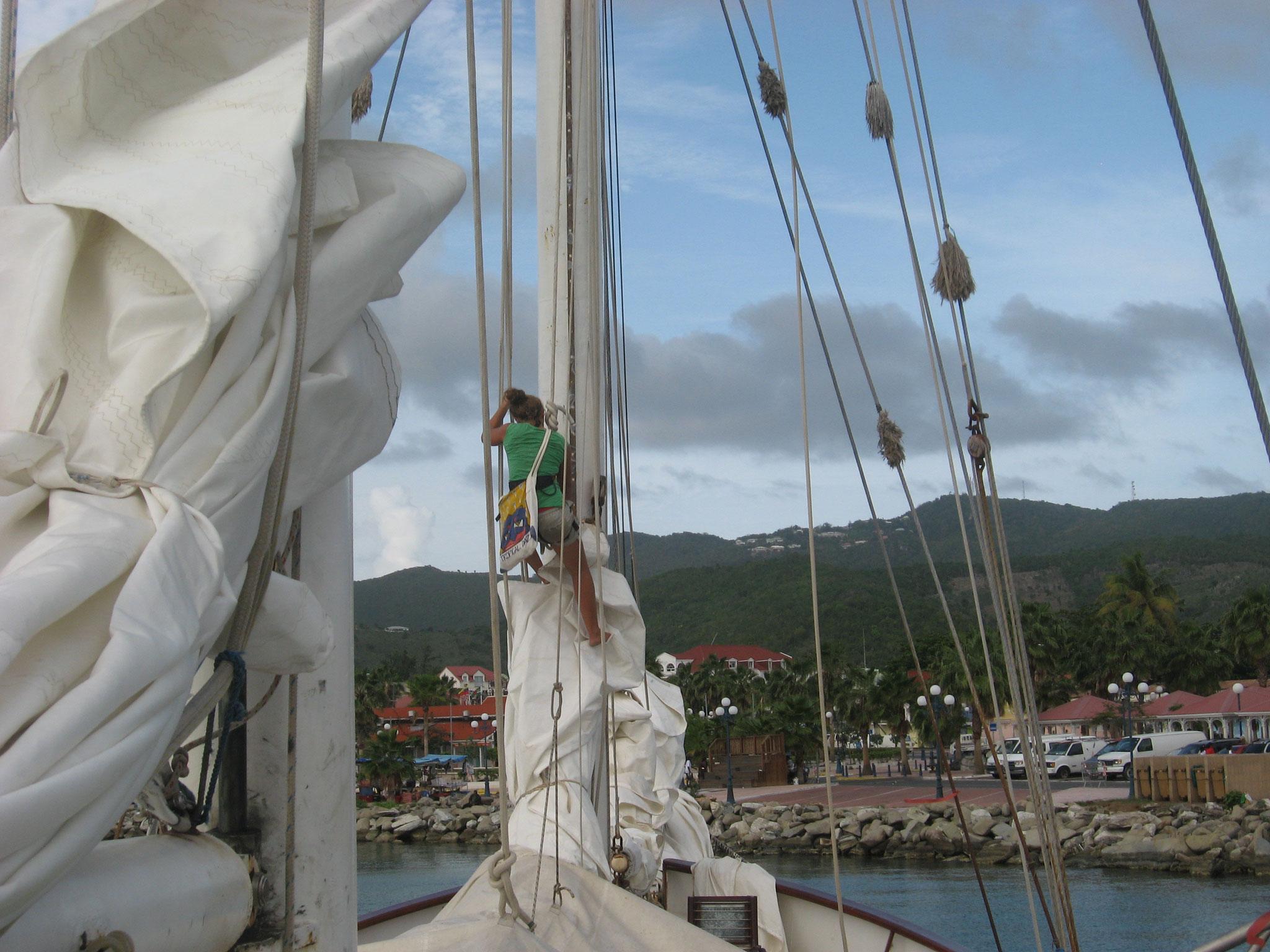 Départ de Saint Martin Guadeloupe