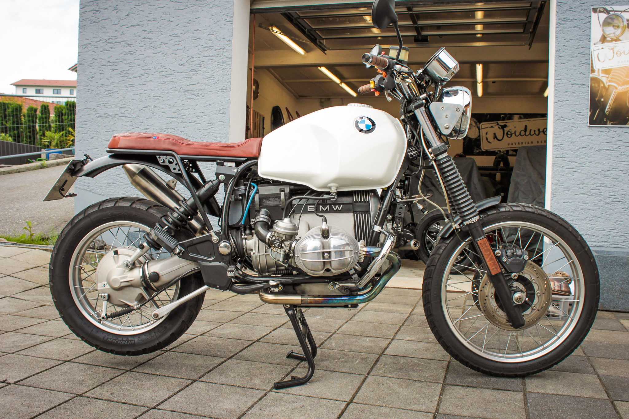 Gravel Woife Bmw R80gs Woidwerk Bavarian Gentlebikes