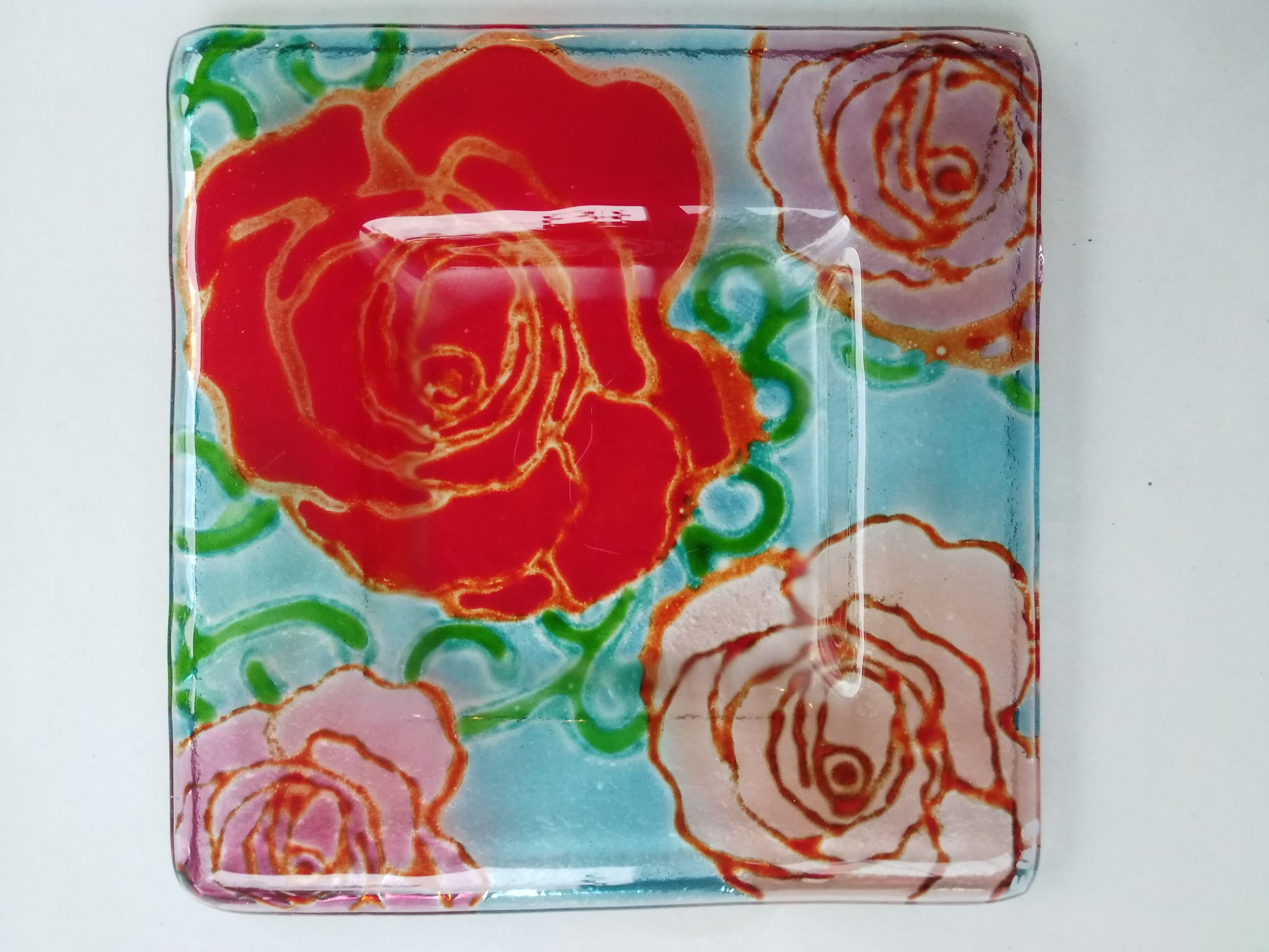 Glasschale 15x15 cm