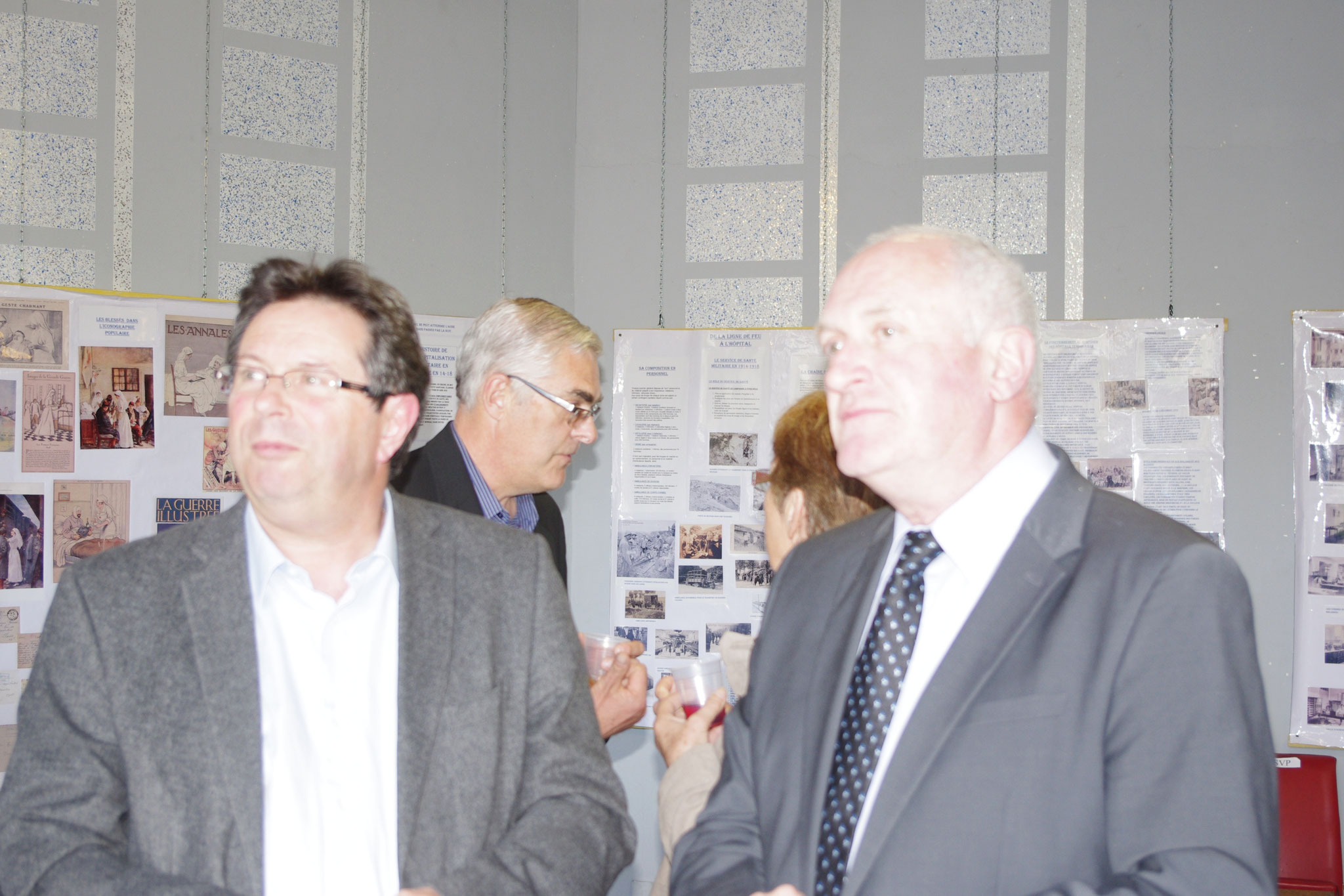 Mrs Gilles Pallier et Philippe Lacoste