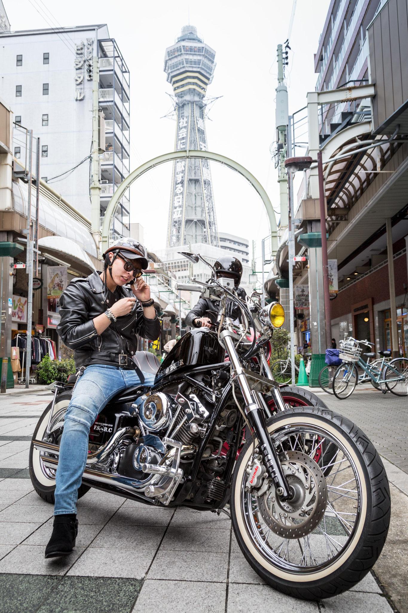 Shinsekai Rider - JAPAN 2017 - Shinsekai Osaka