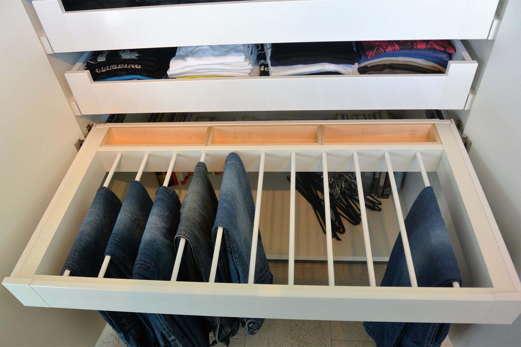Hosenhalter mit Ablagefächer für Uhren, Schmuck usw.