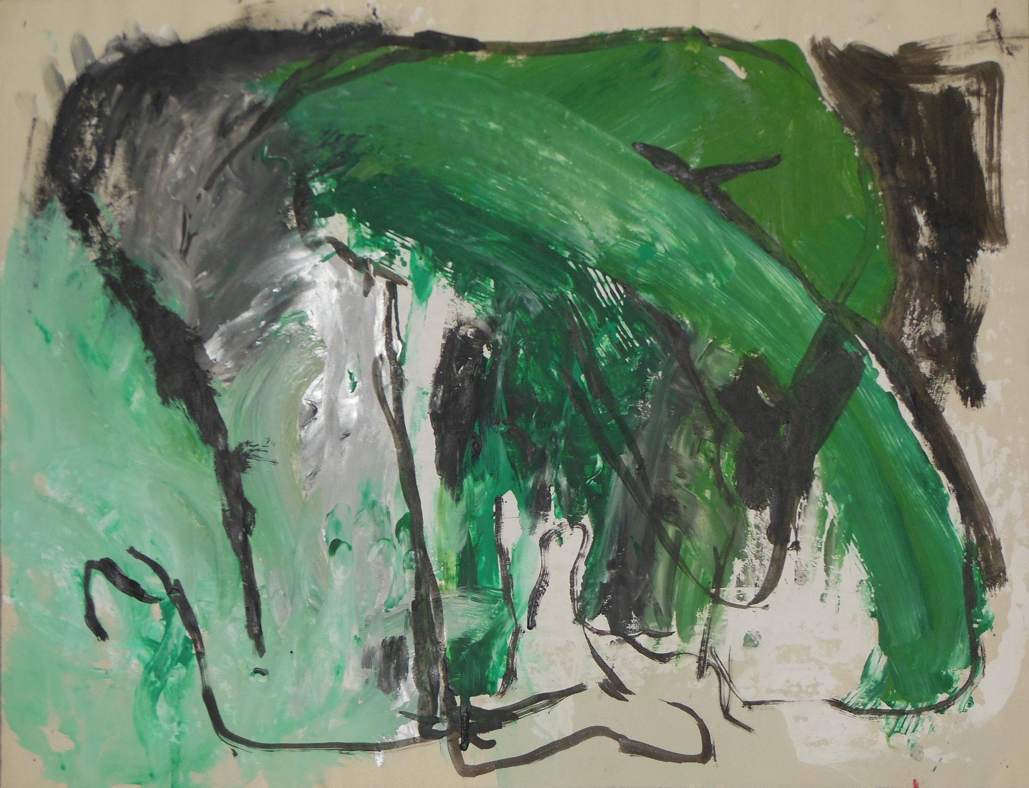 Baby Elephant, 1998, 62x49cm, Papier