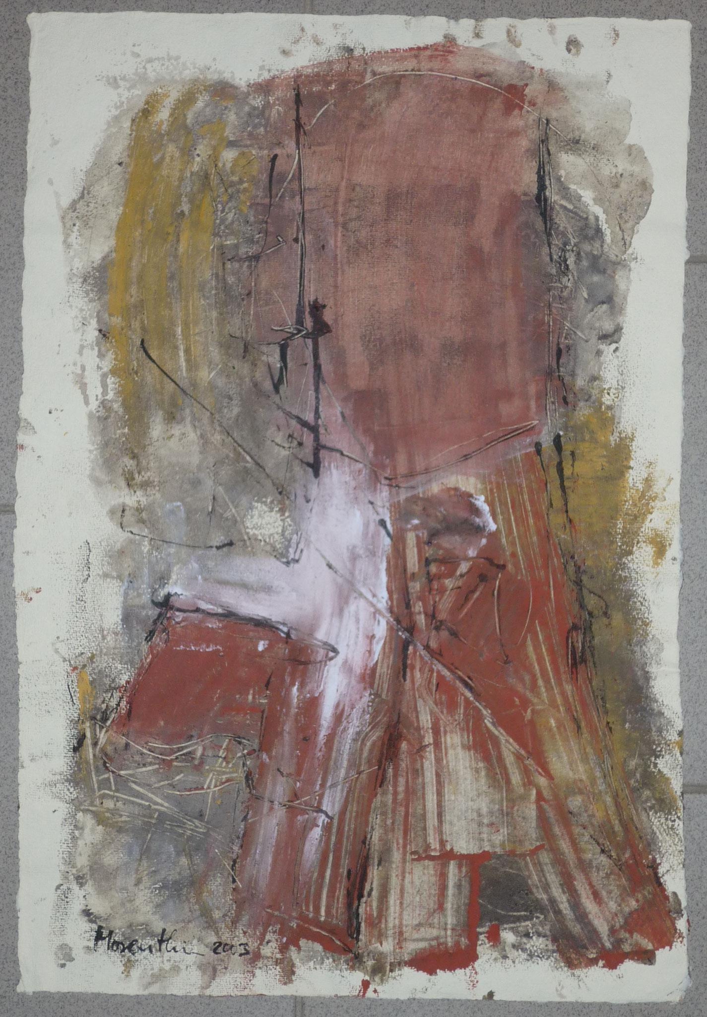 oT, 2003, 37x55cm, Papier