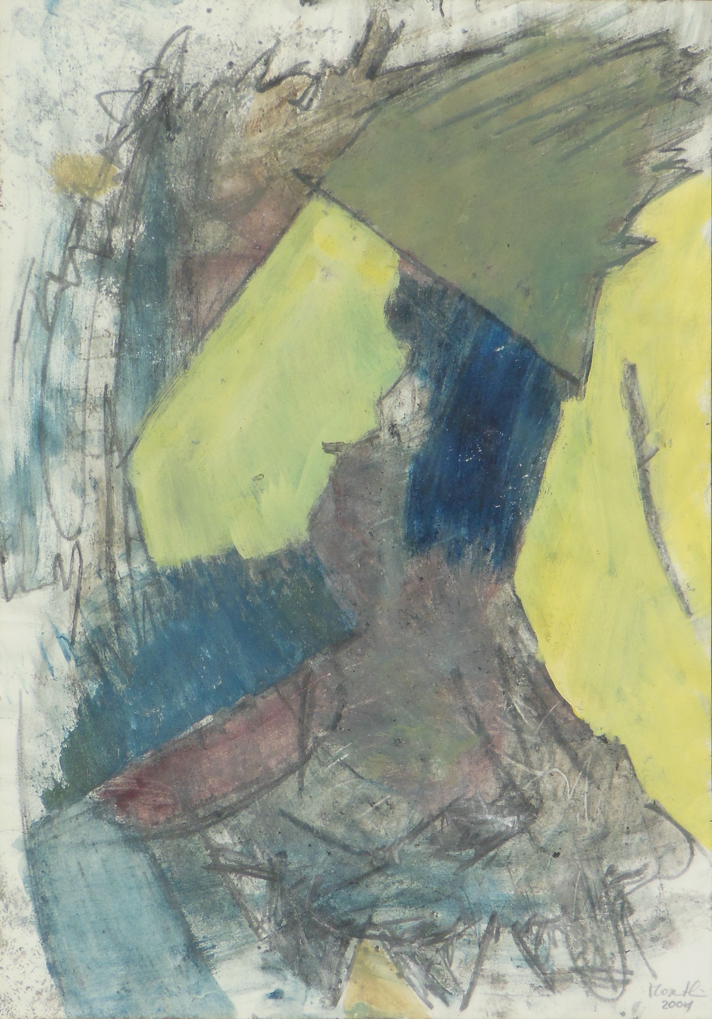 Madame, 2001, 42x59cm, Papier