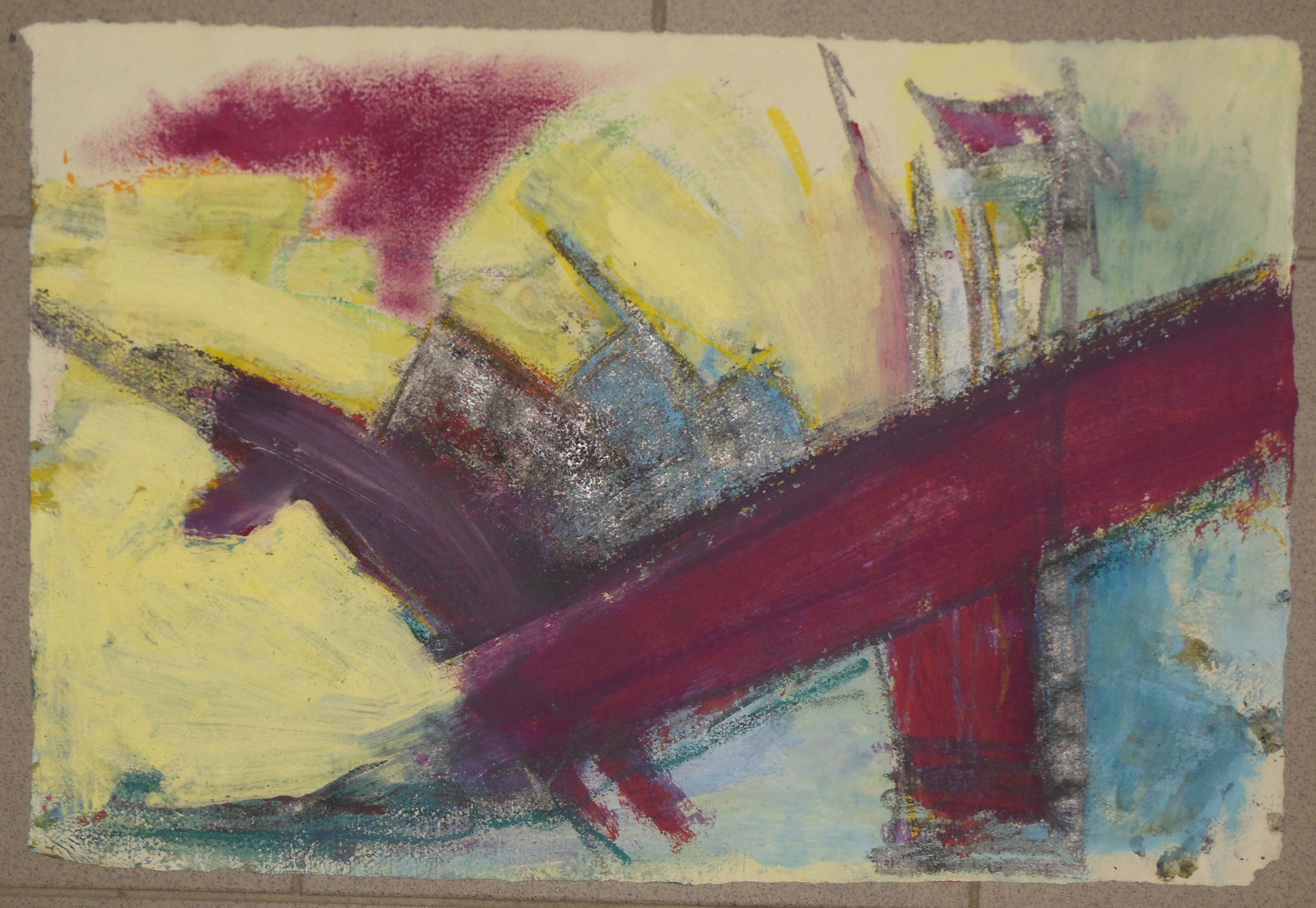 oT2, 1999, 53x37cm, Papier