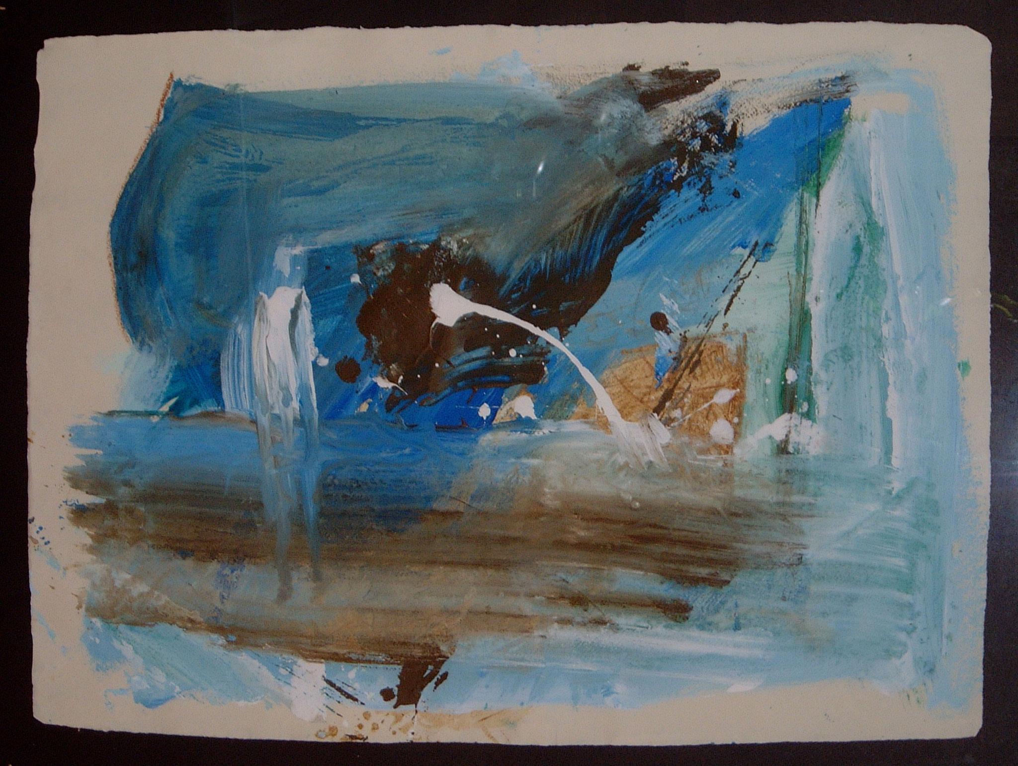 Harmonie, 2002, 75x55cm, Papier