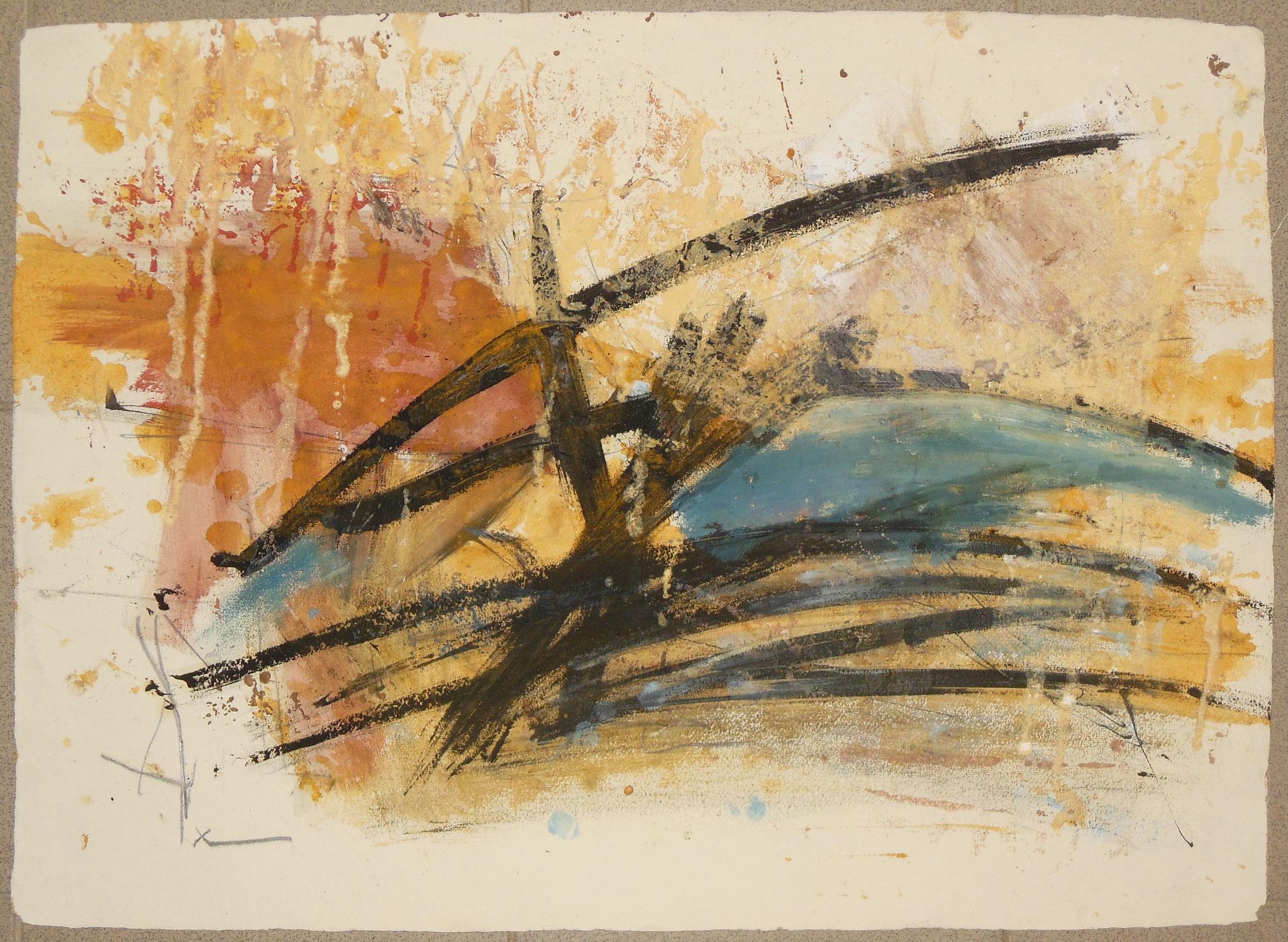 oT1, 1998, 72x55cm, Papier
