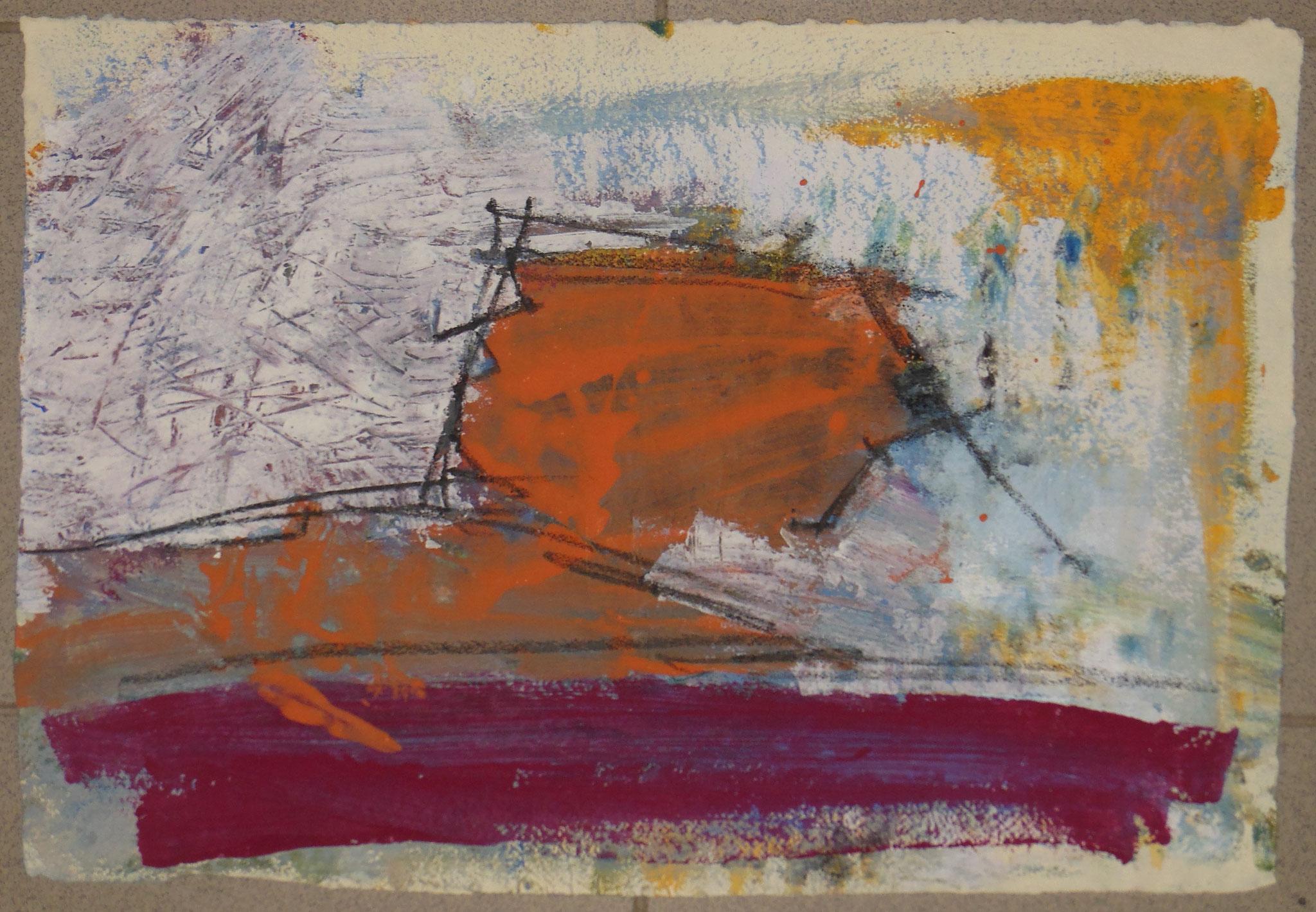 oT, 1999, 55x37cm, Papier