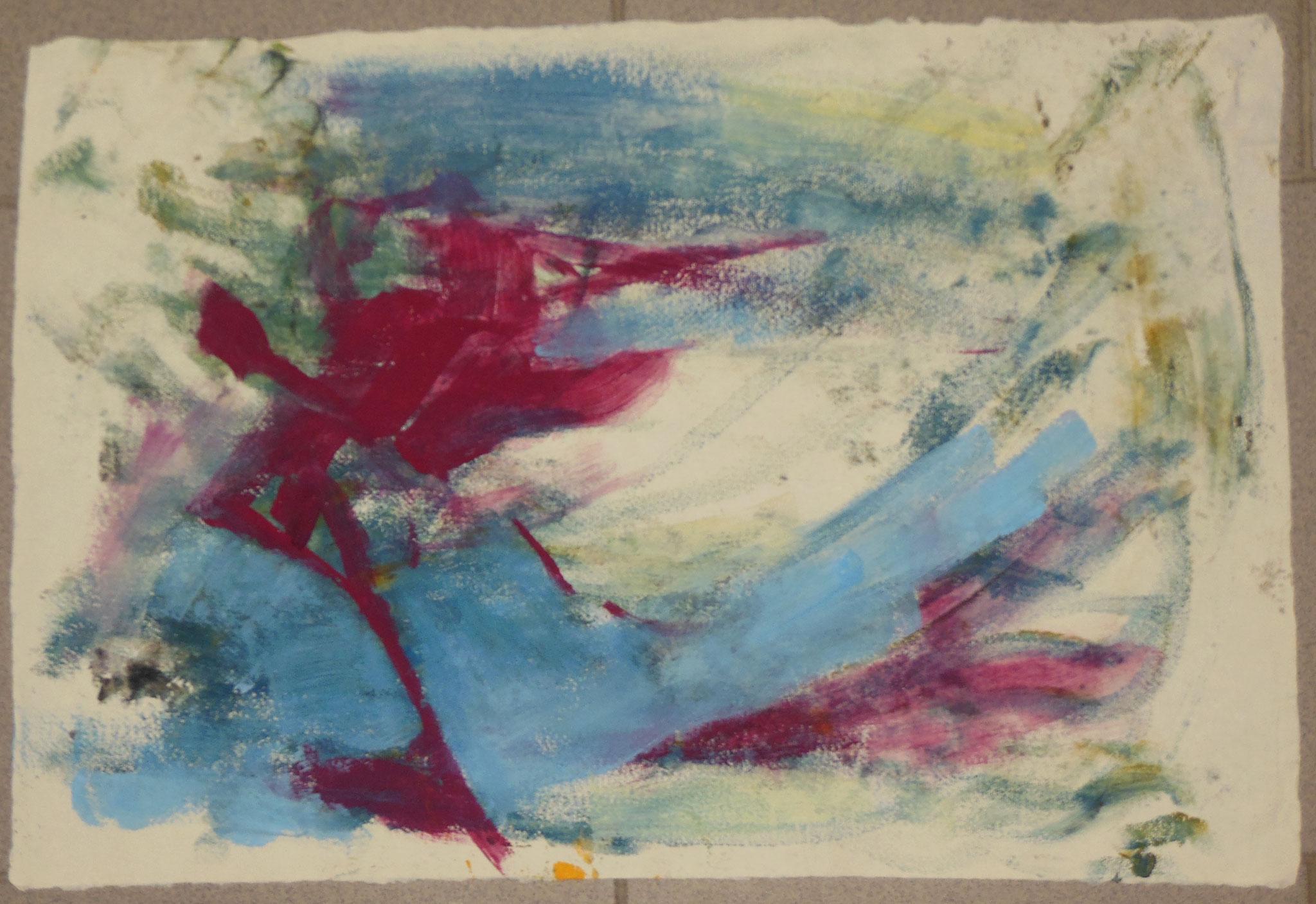 oT, 1998, 55x37cm, Papier