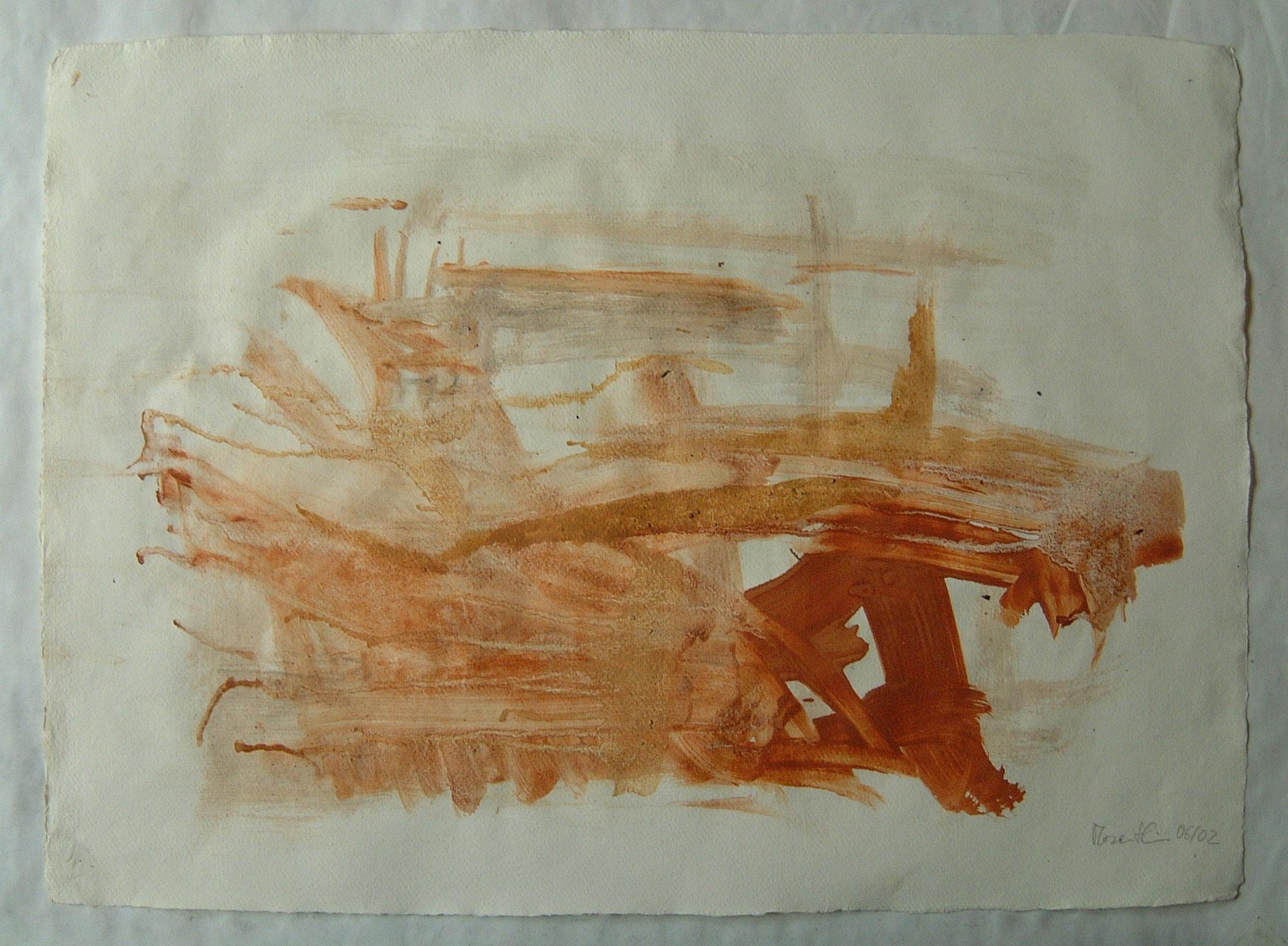 oT, 2002, 75x55cm, Papier