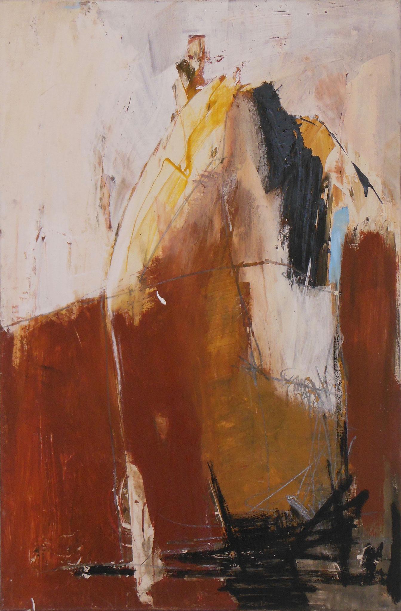 Lifelines I, 2002, 80x120cm, Mischtechnik / Leinwand