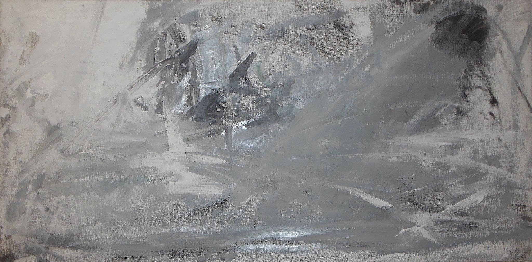Glanz, 1999, 121x61cm, Leinwand