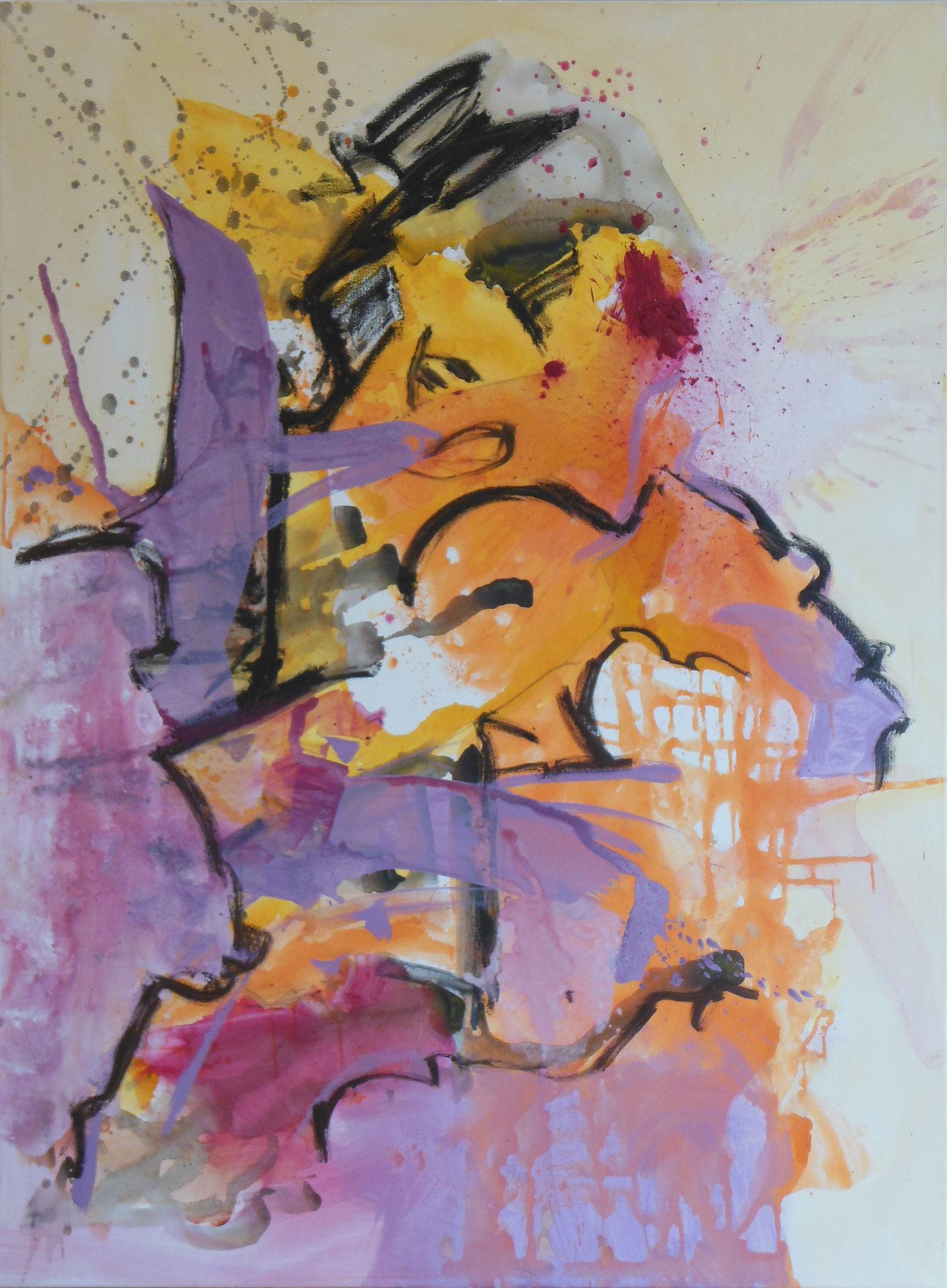 Stevie Wonder, 2013, 120x140cm, Mischtechnik / Leinwand