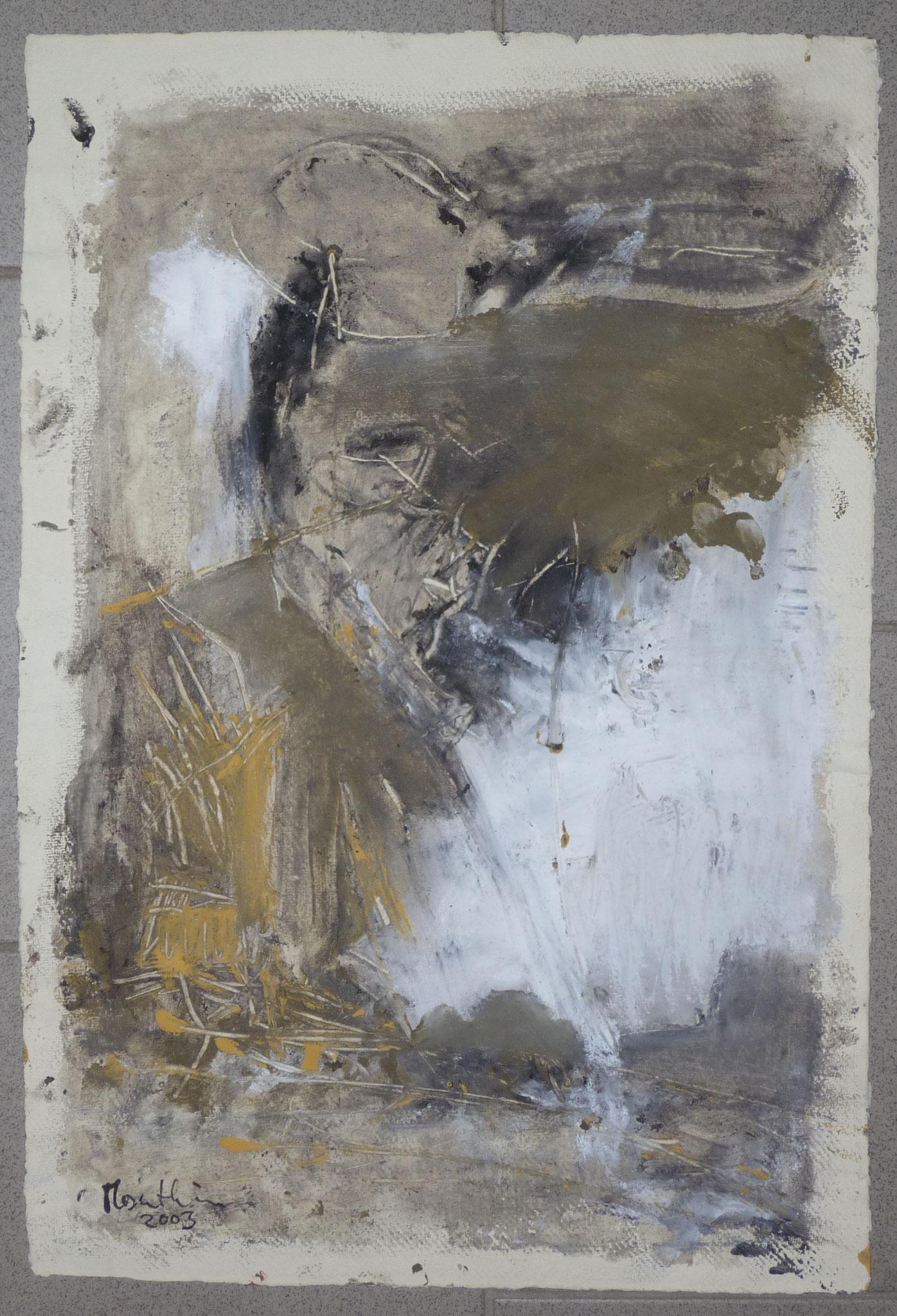 oT2, 2003, 37x55cm, Papier