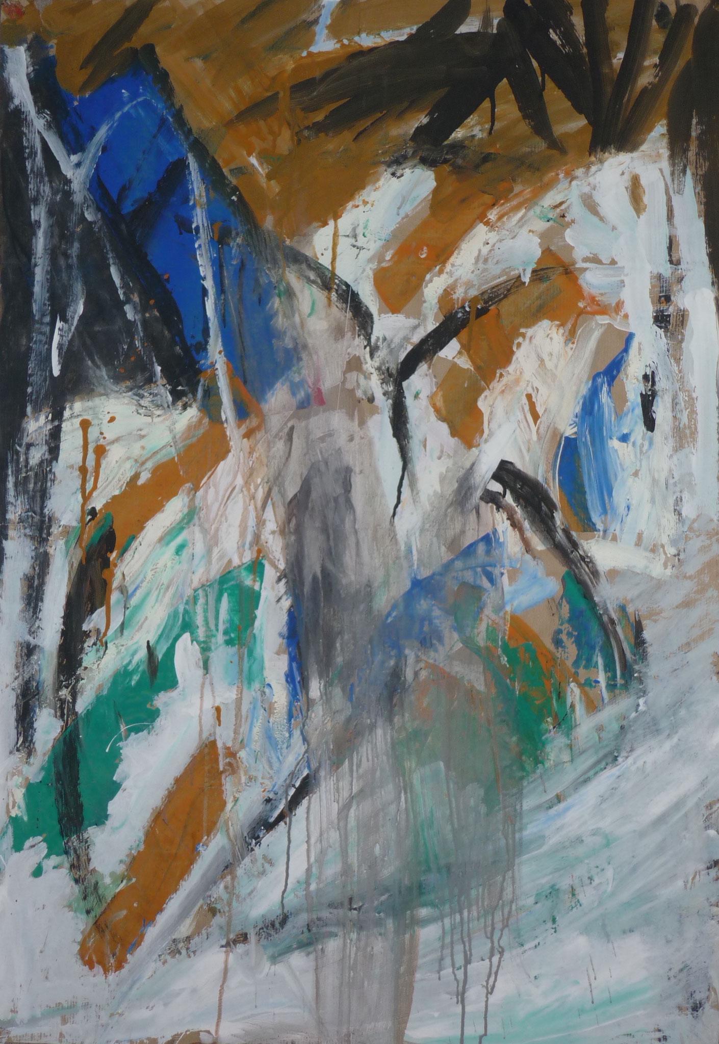 o.T., 1998, 70x100cm, Papier