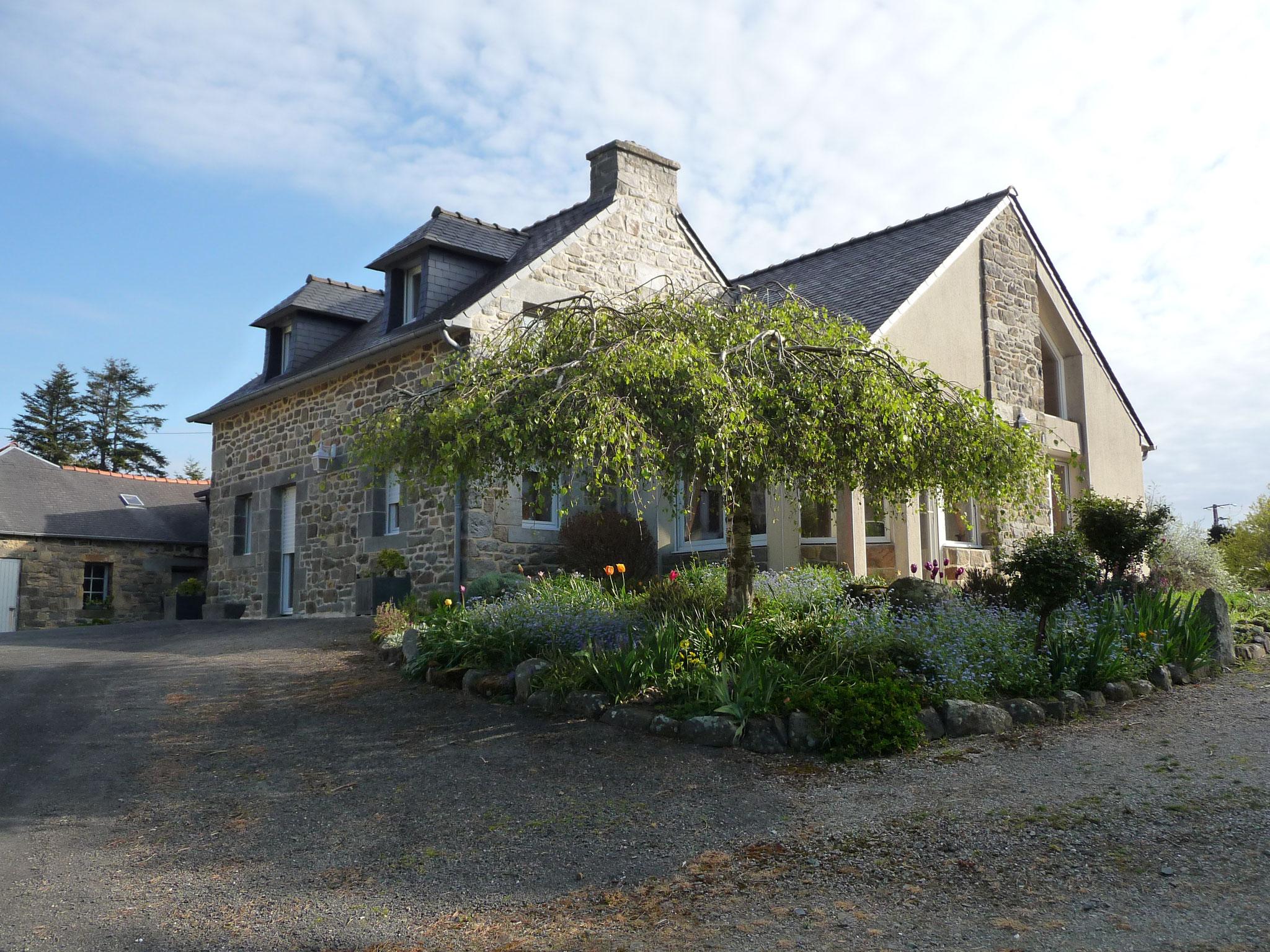 Ferienhaus in La Pointe du Château im Frühling
