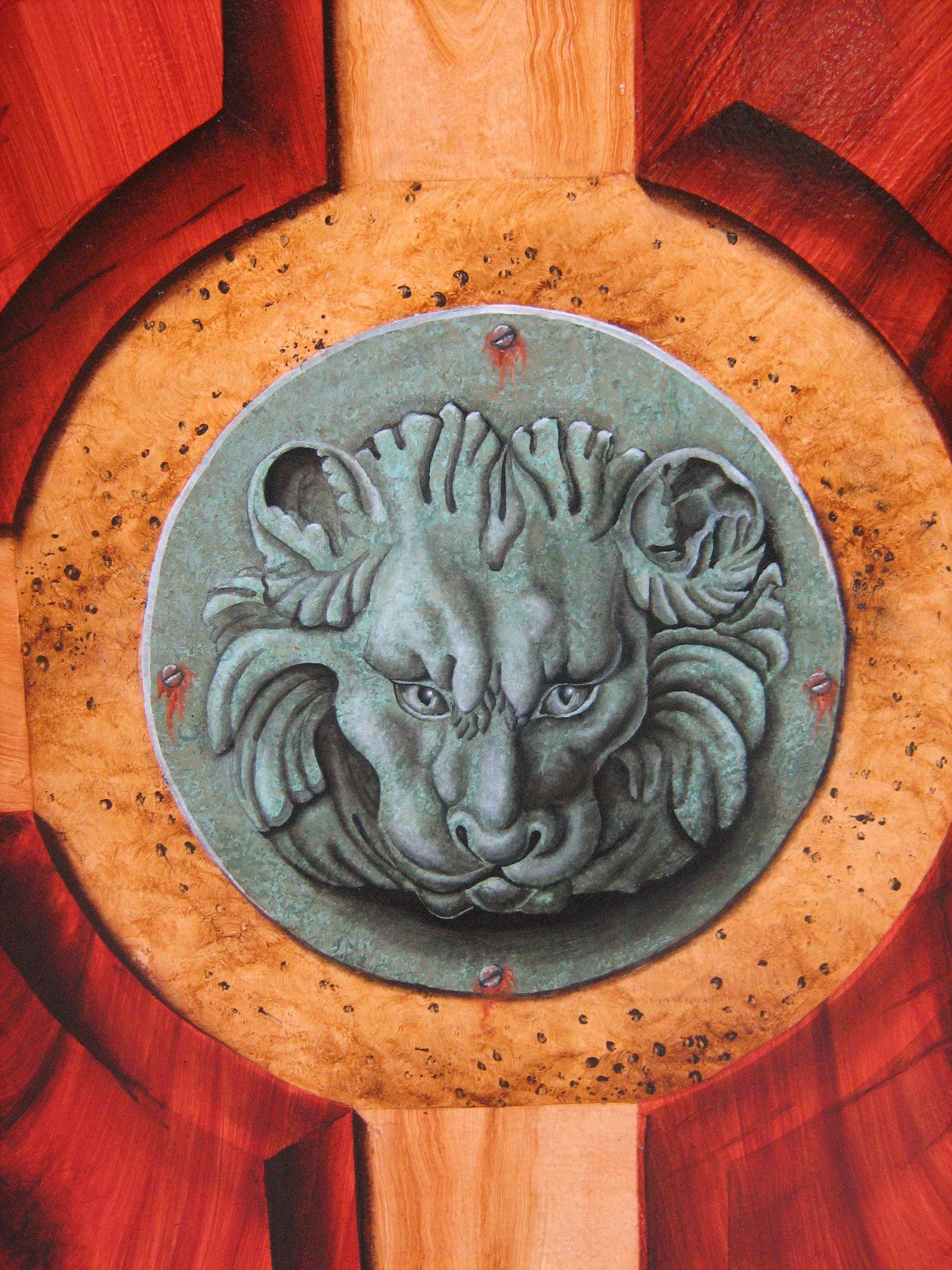 Faux bronze et relief