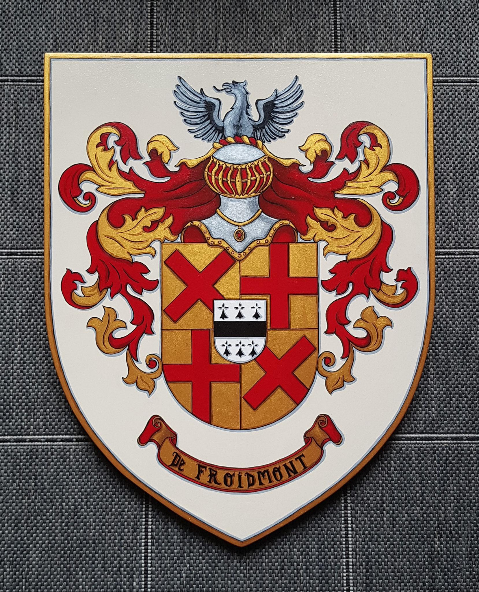Armoiries de Famille 40 x 50 cm
