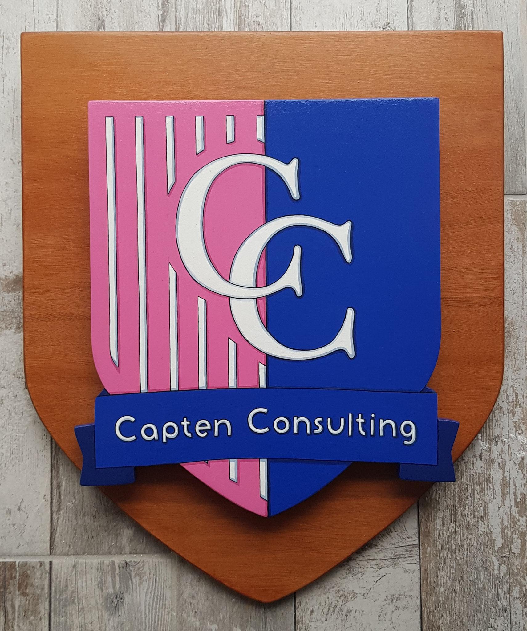 Logo d' Entreprise en décroché 40 x 50 cm