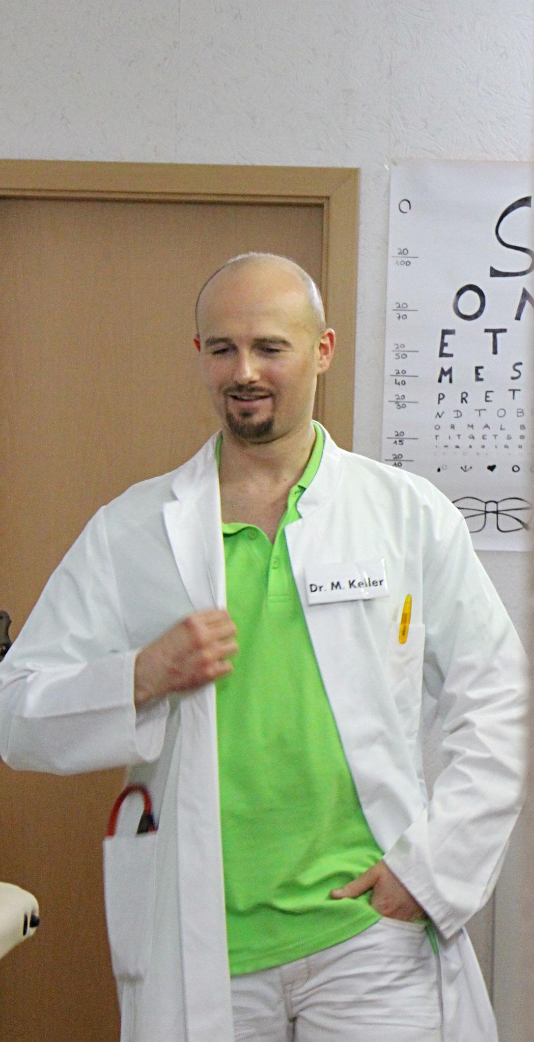Chefarzt Dr. Keller