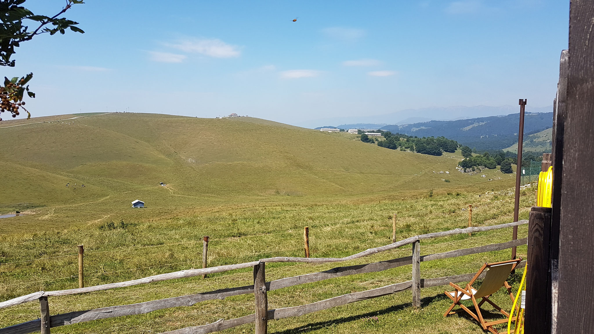 Hochebene in den lessinischen Alpen