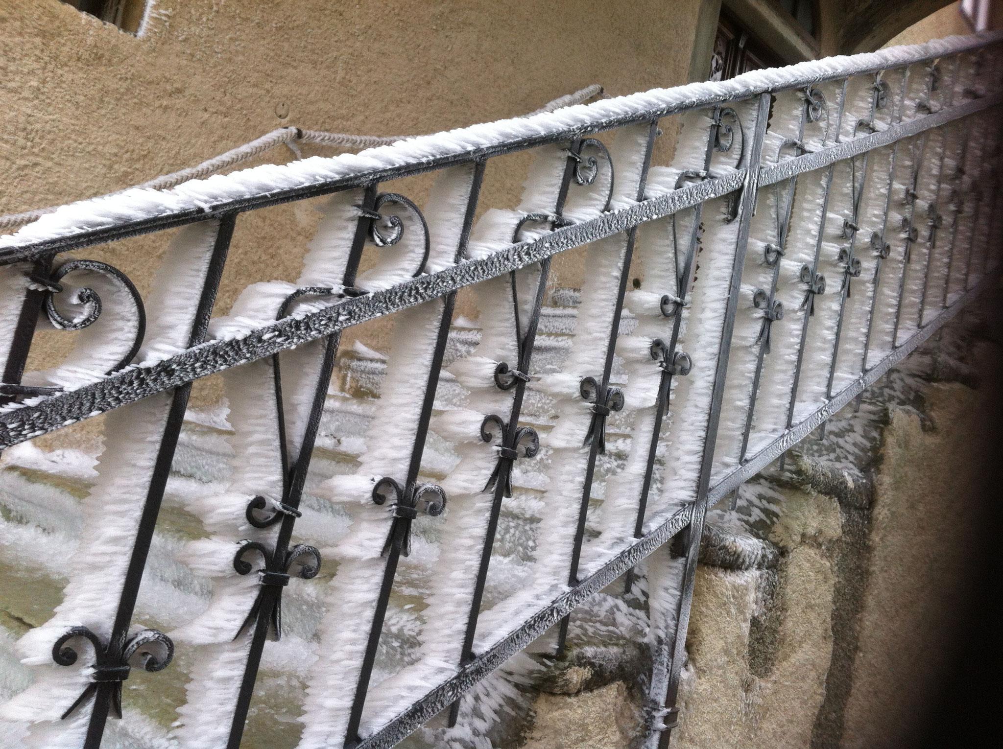 kalter Wind am großen St. Bernhard