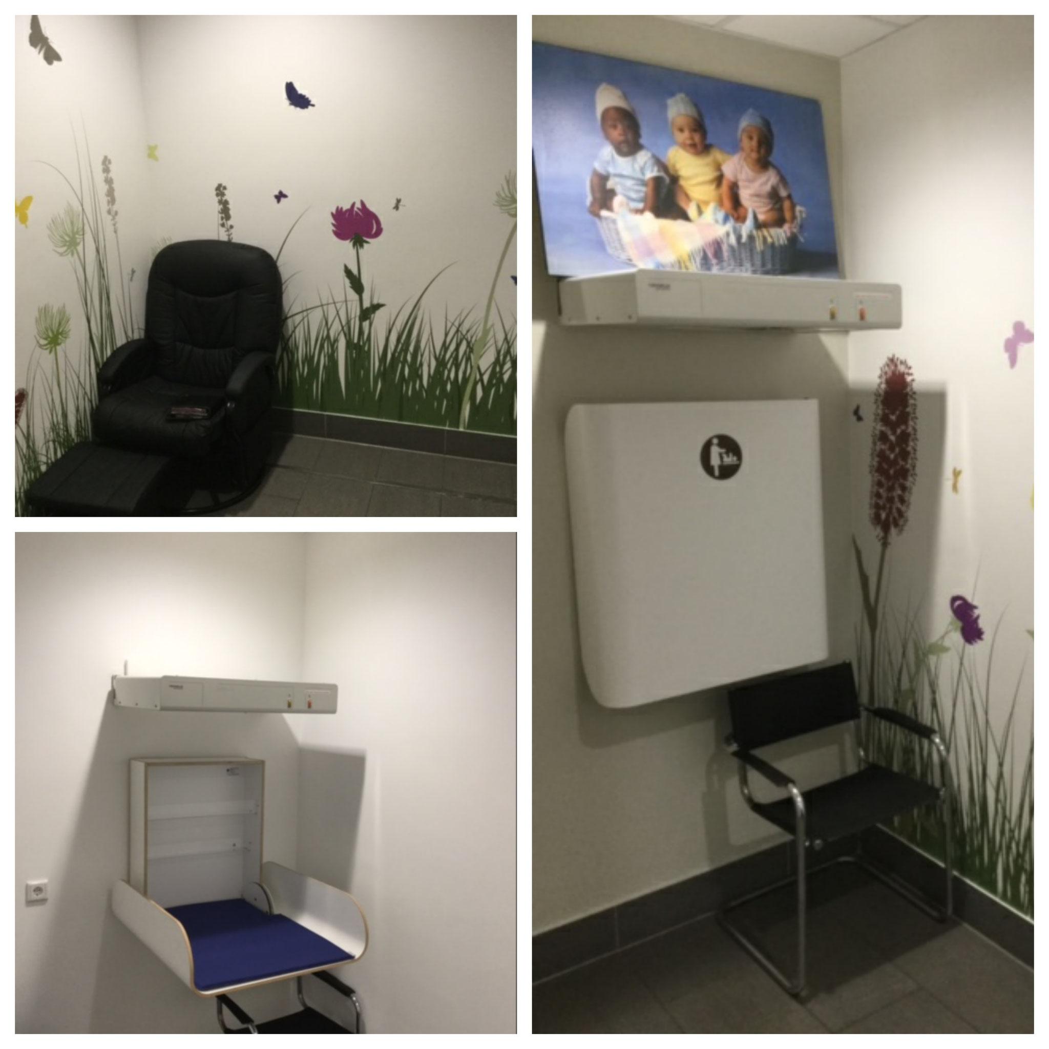 Kunden-WC im Herold Center