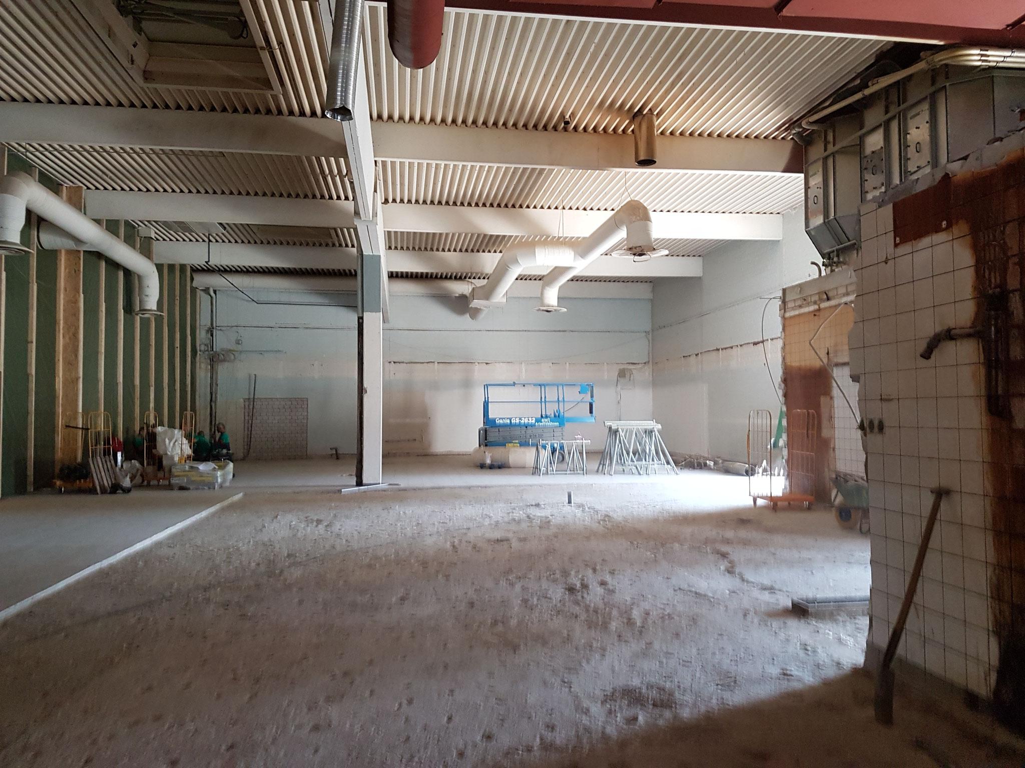 Umbauarbeiten, August - November 2017