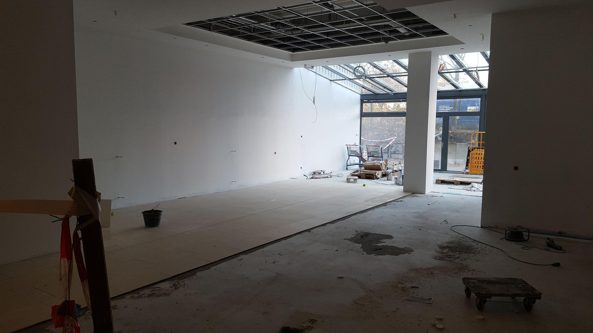 Umbauarbeiten, Verbrauchermarkt 5.500qm Verkaufsfläche