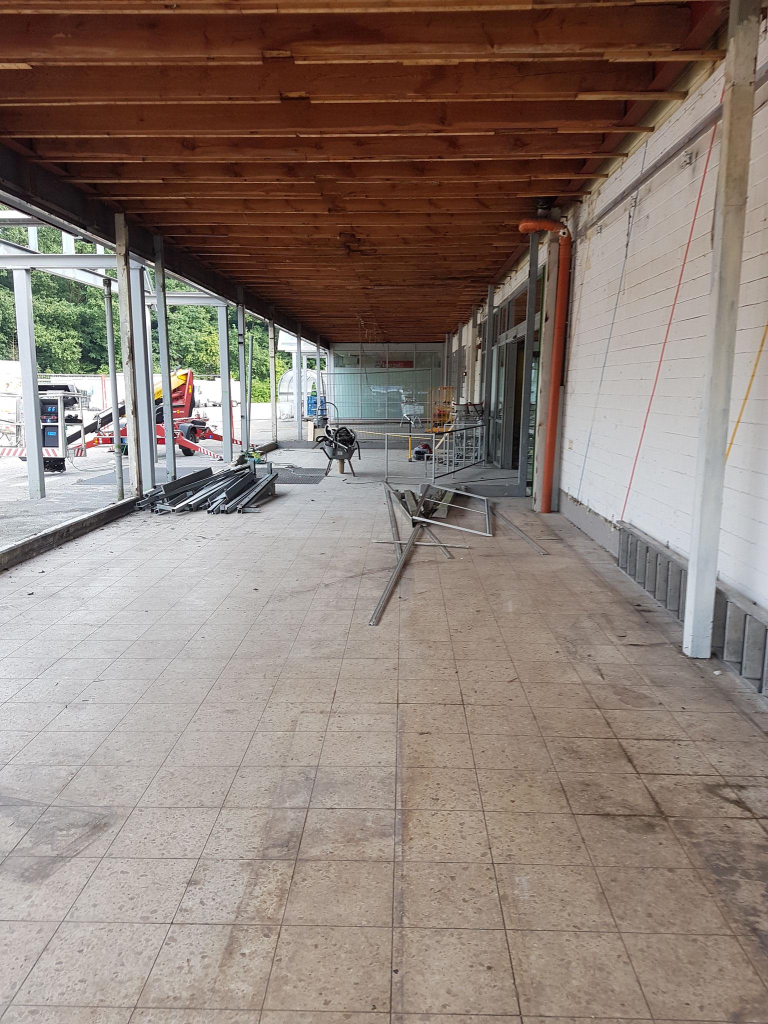 Umbauarbeiten,  Verbrauchermarkt, 2.500qm Verkaufsfläche