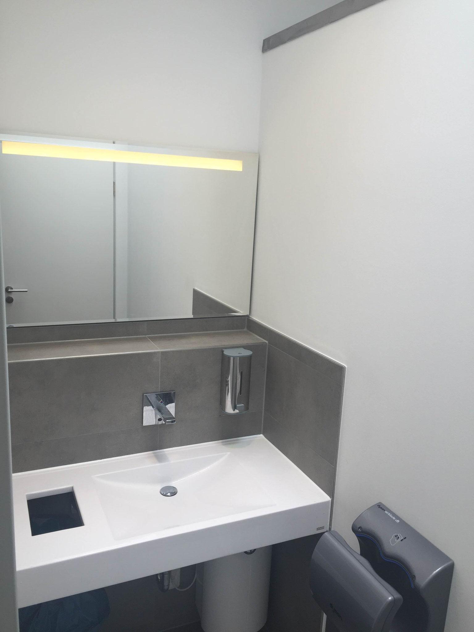 WC- Anlagen Welau Arcaden in Wedel // März 2016