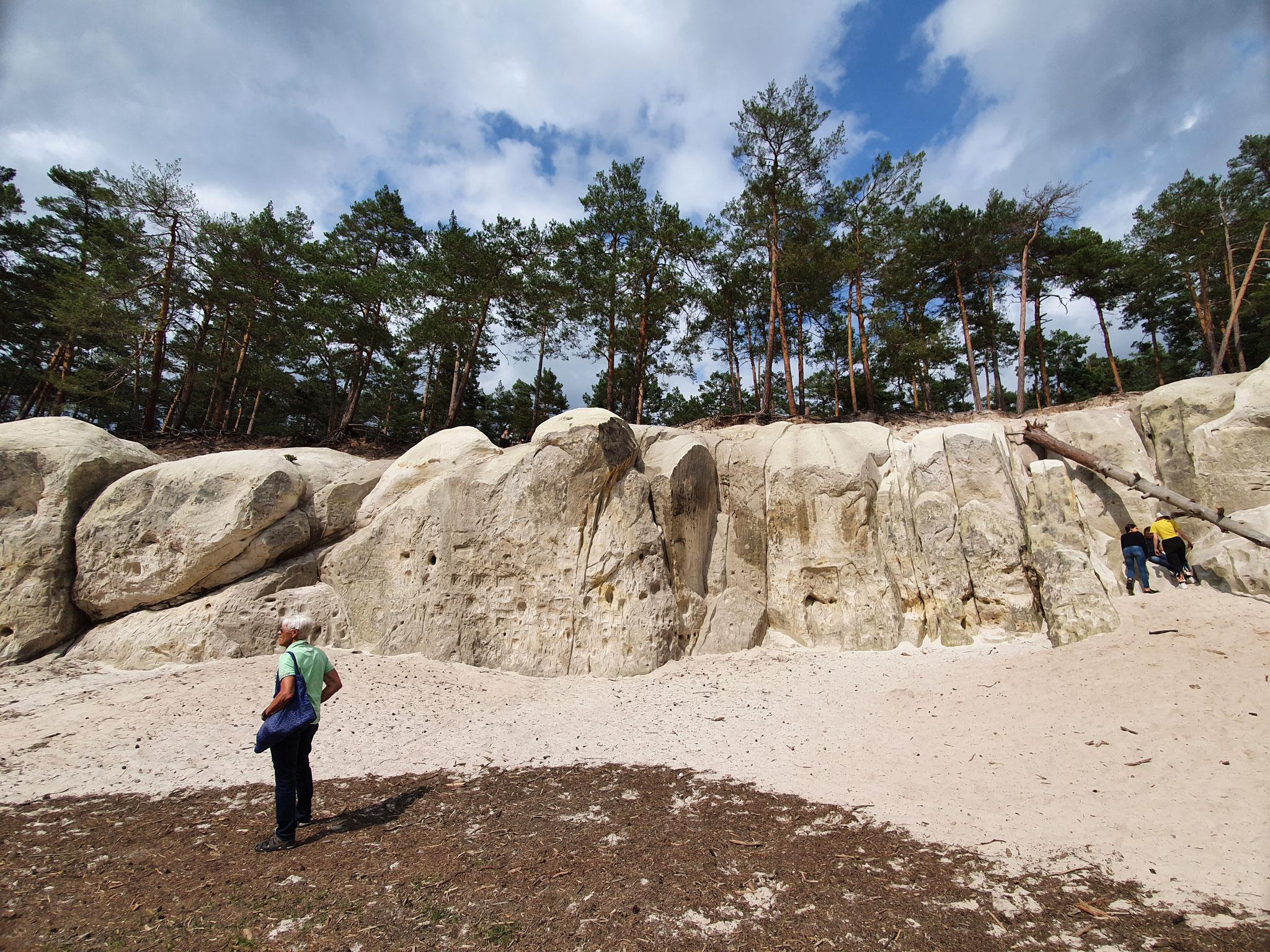 Sandhöhlen Blankenburg unglaublich schön