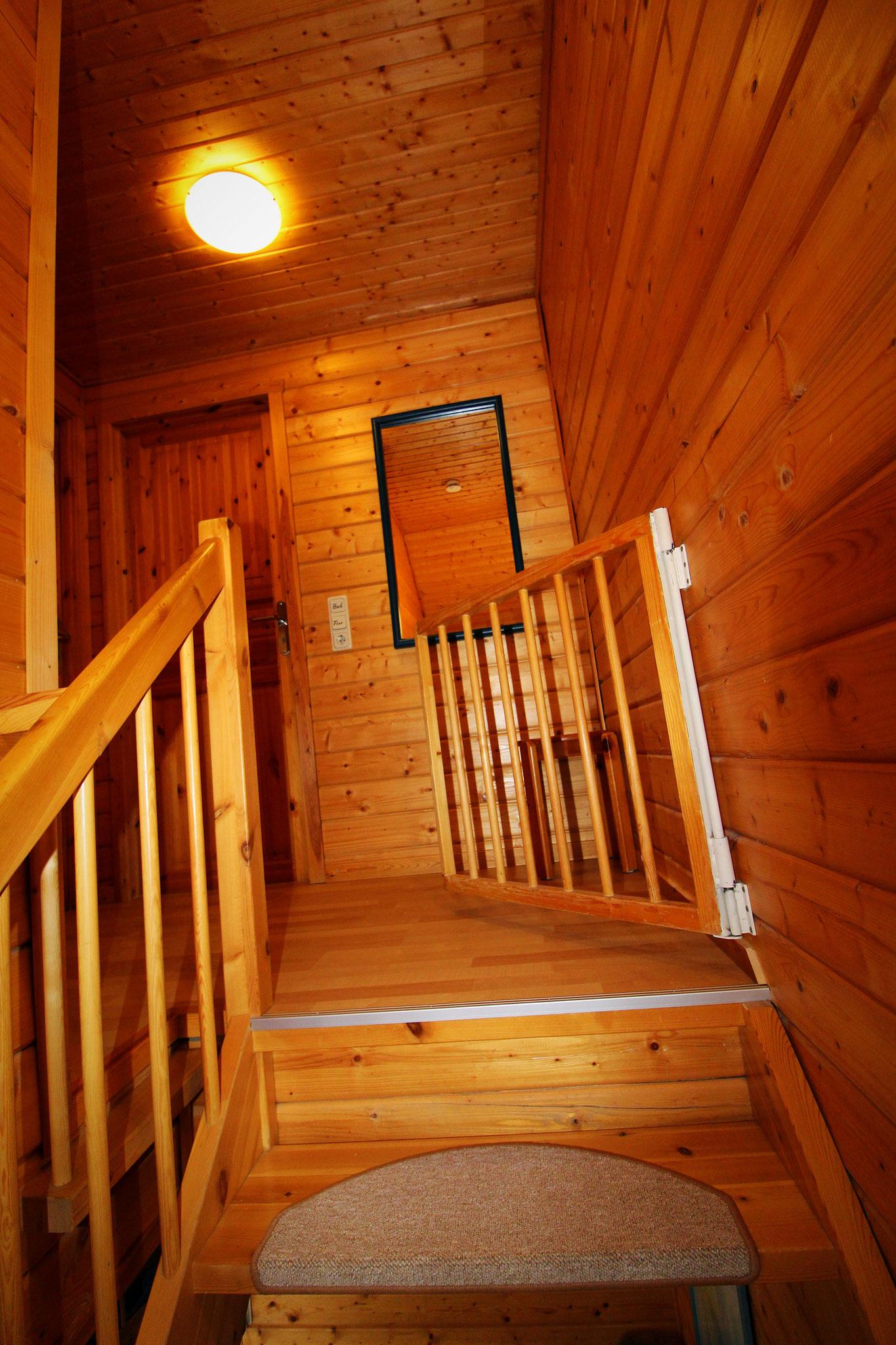 Obergeschoss mit Treppensicherung