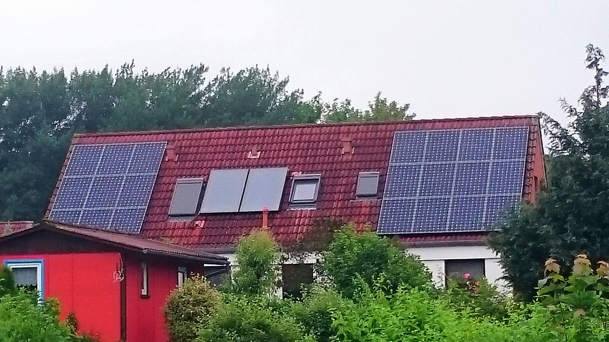6,867 kWp Sunpower mit Solaredge Wechselrichter in Stralsund