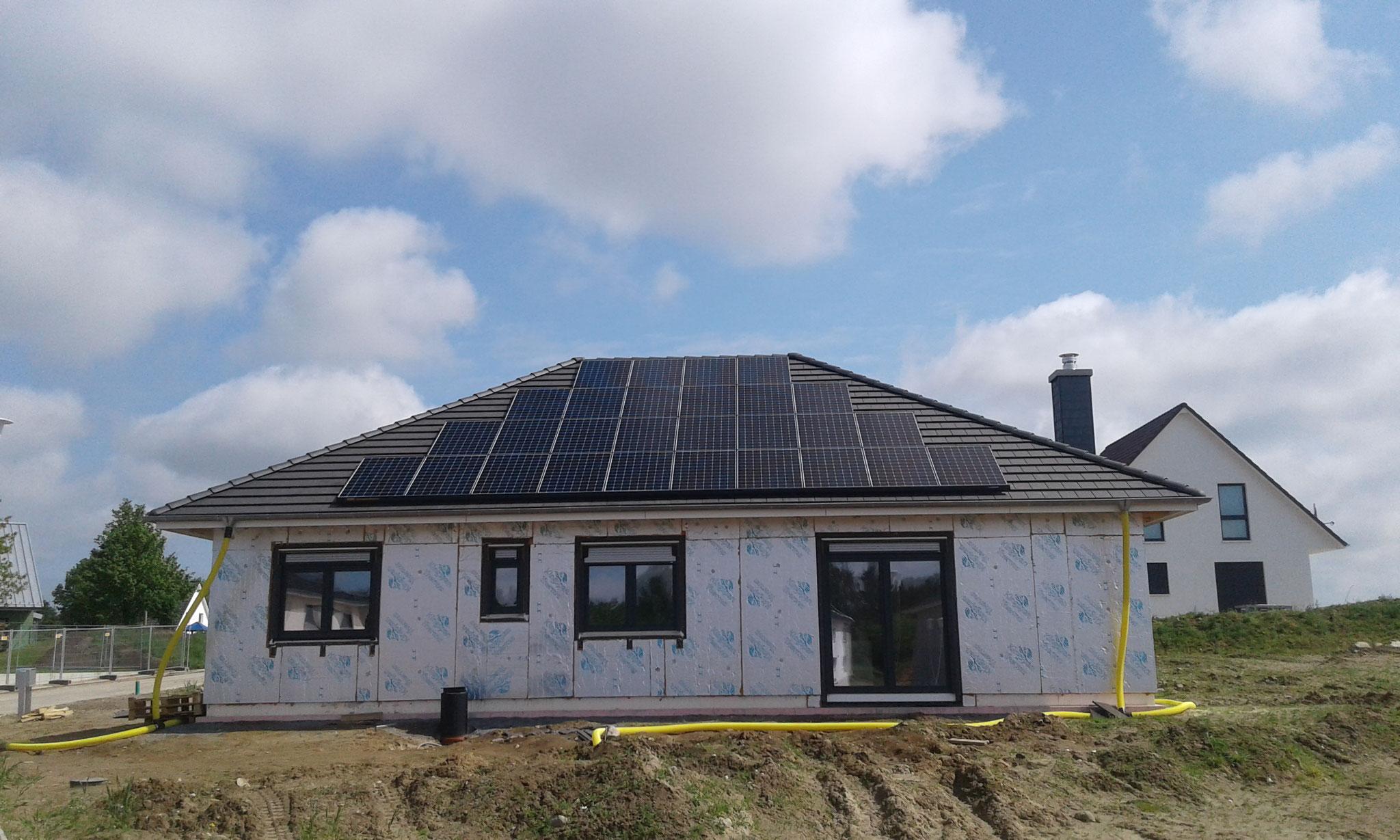 10 kWp Sunpower Süd/West, Solaredge Wechselrichter inkl. 10 kW Senec Speicher und Cloud 2.0 in Satow bei Bad Doberan