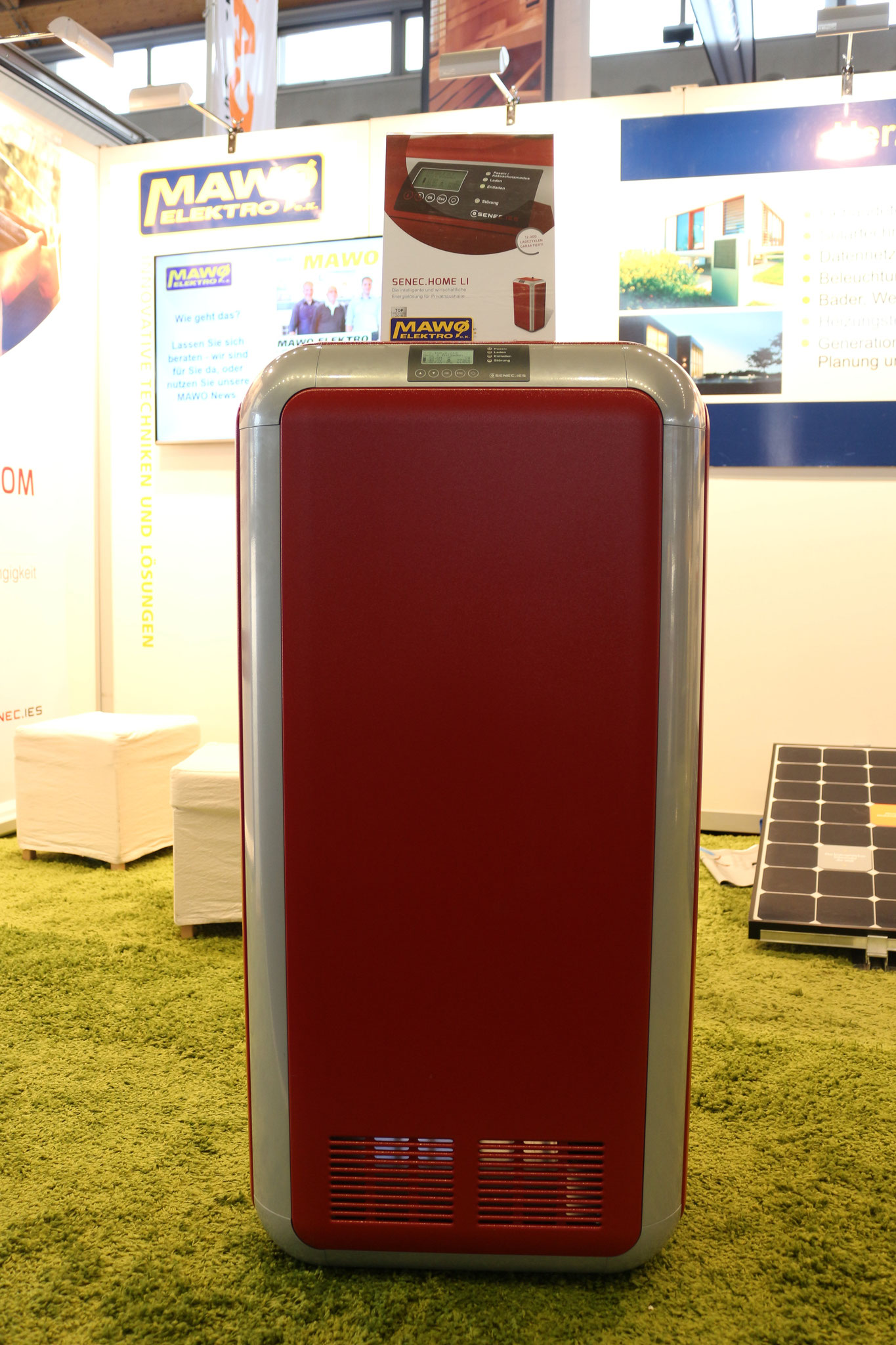 SENEC Li Speicher in der Leistung 2,5 - 10 kW