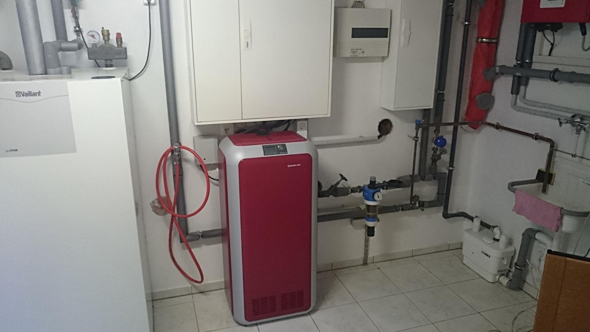Nachrüstung eines 5 kW Li Senec Speicher inkl. SENEC.CLOUD 2.0 in Verbindung mit der Wärmepumencloud in Berlin Lichterfelde