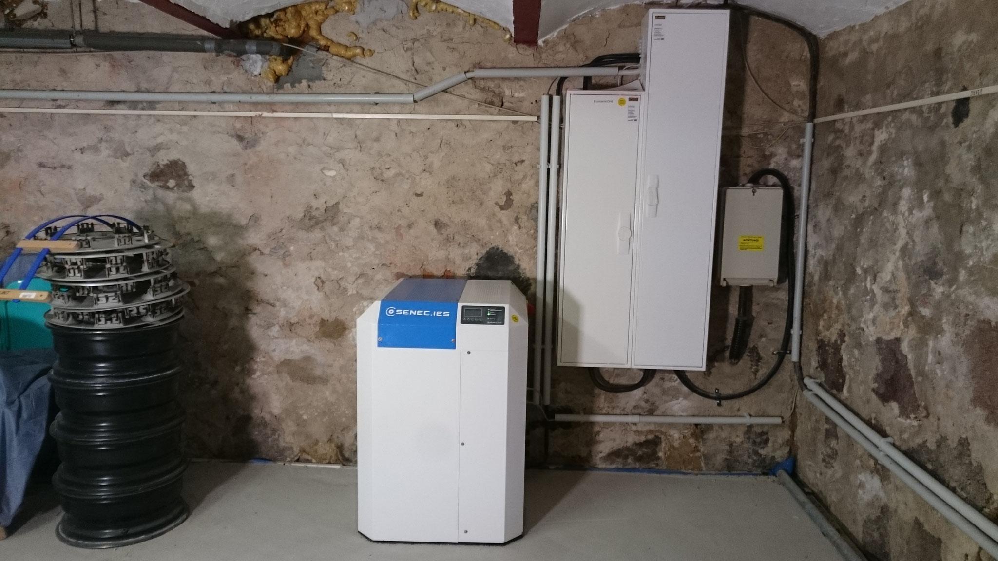 7,5 kWh SENEC.Home Li Speicher mit Econamic.Grid in Friedland