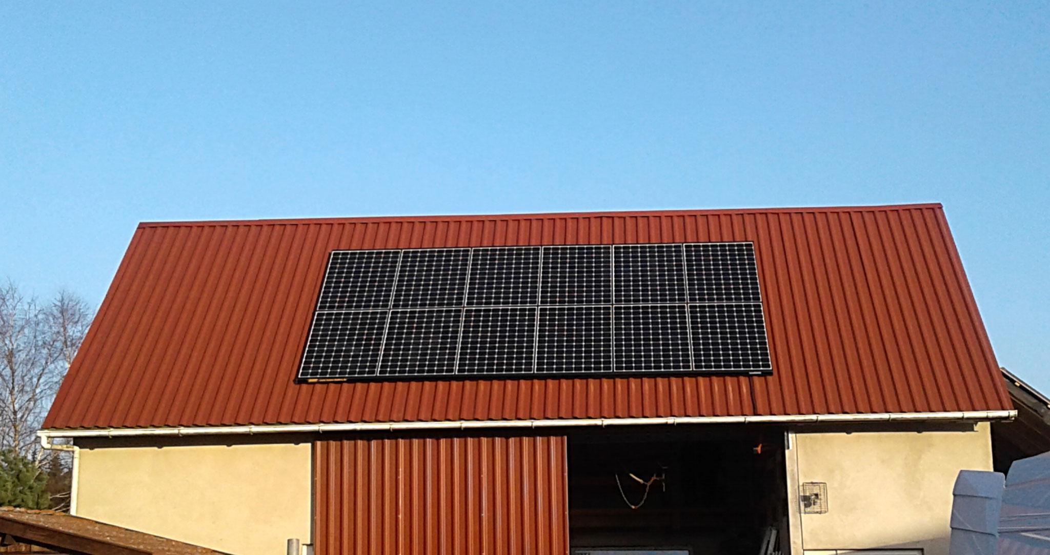 7,194 kWp Sunpower Süd und West, Solalaredge Wechselrichter inkl. 5 kW Senec Speicher und Cloud 2.0 in Fünfseen / Adamshoffnung