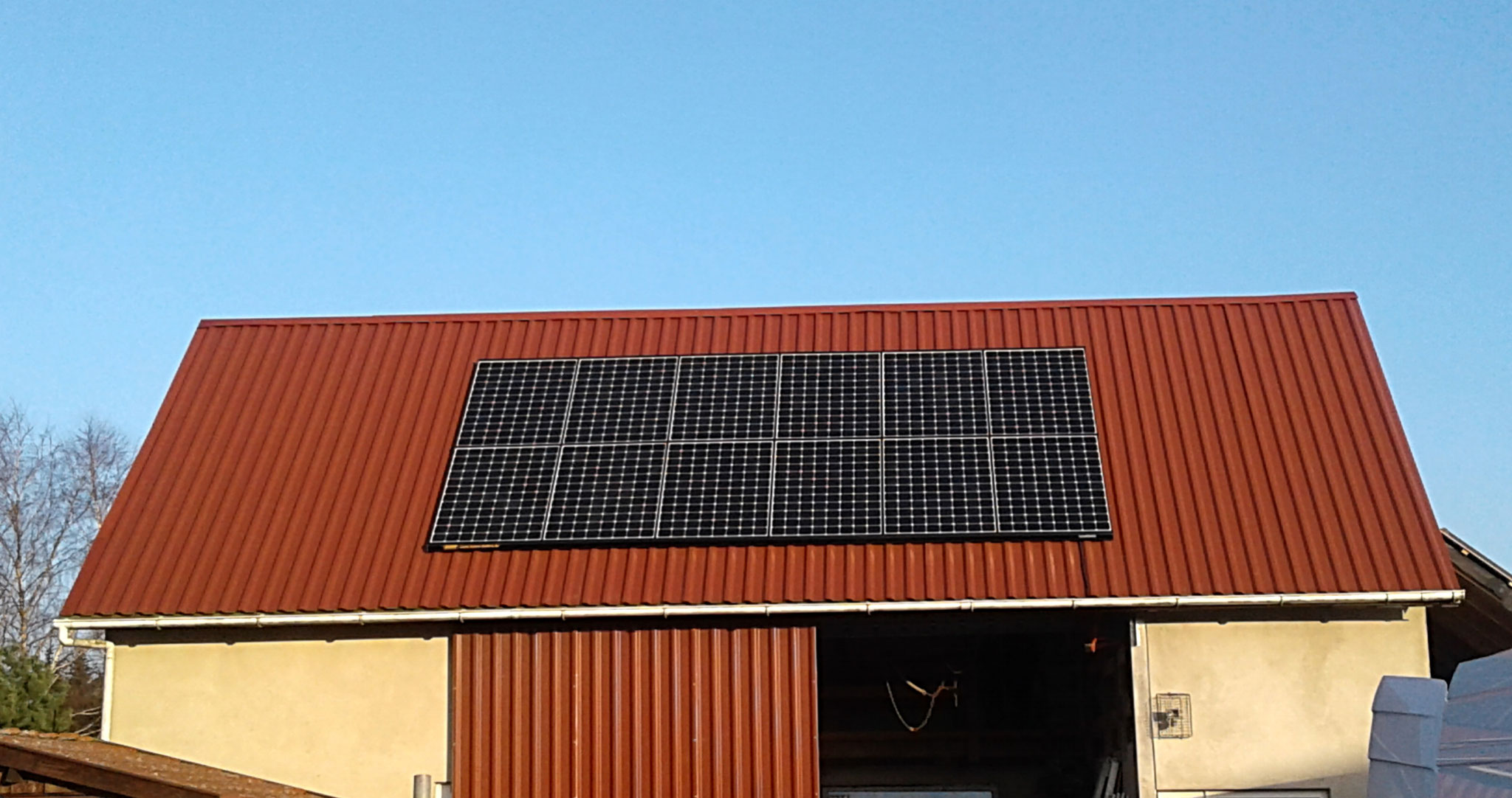 7,194 kWp Sunpower Süd und West, Solalaredge Wechselrichter inkl. 5 kWh Senec Speicher und Cloud 2.0 in Fünfseen / Adamshoffnung