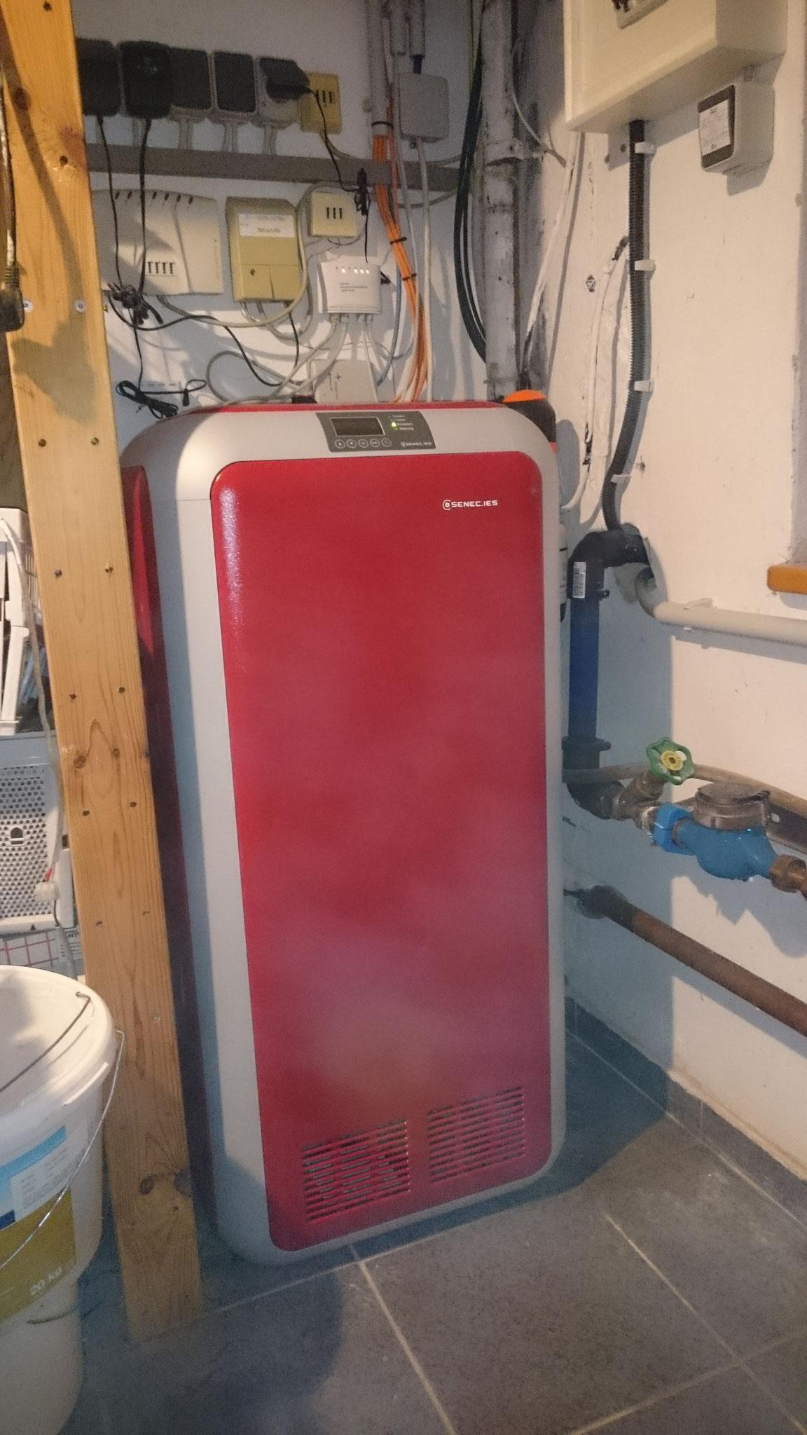 10 kWh Li Senec Speicher inkl. Senec.Cloud in Kombination mit: Sunpower PV-Anlage und einem Viessmann BHKW in Berlin Rudow